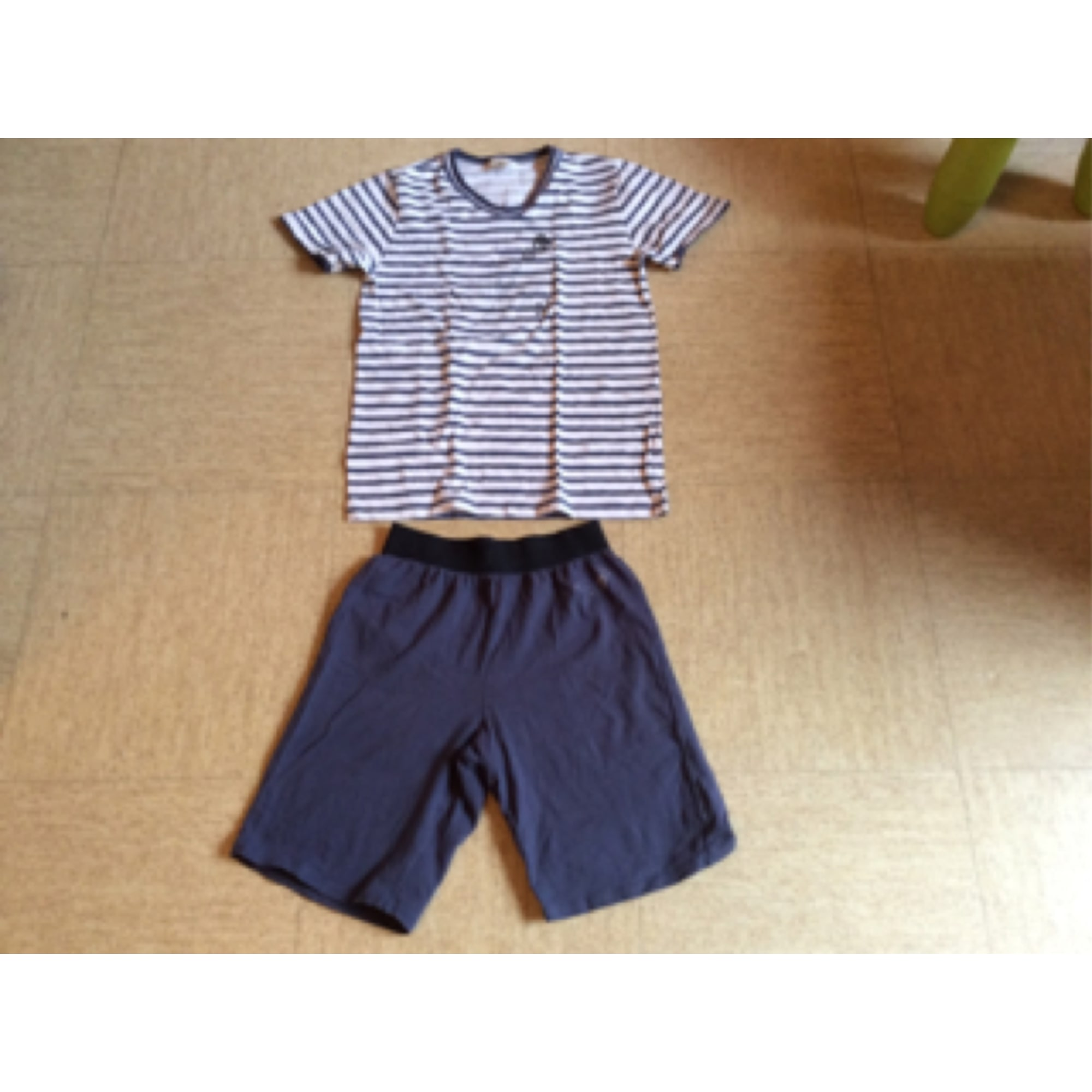 Pyjama IKKS Bleu, bleu marine, bleu turquoise