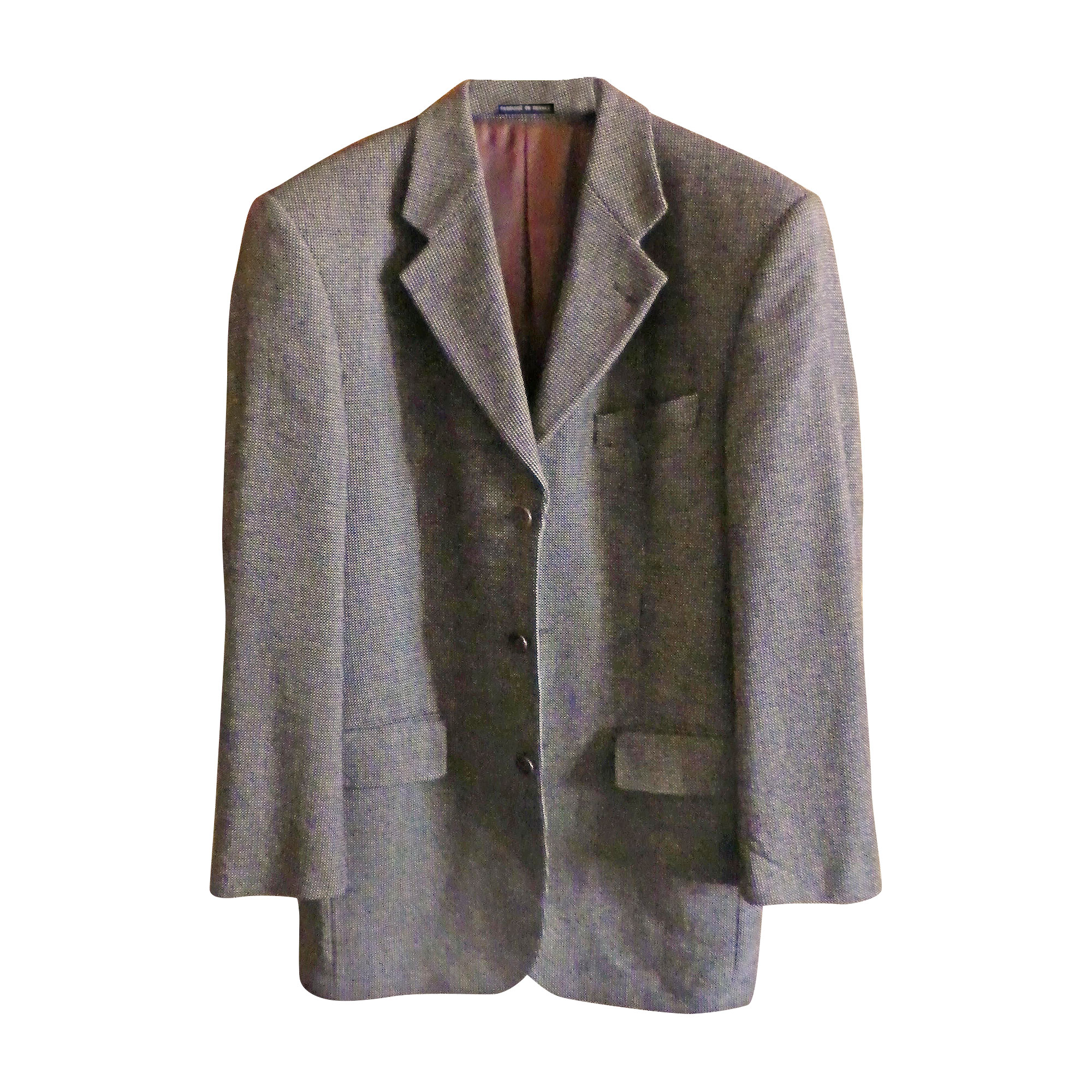 Veste YVES SAINT LAURENT Gris, anthracite