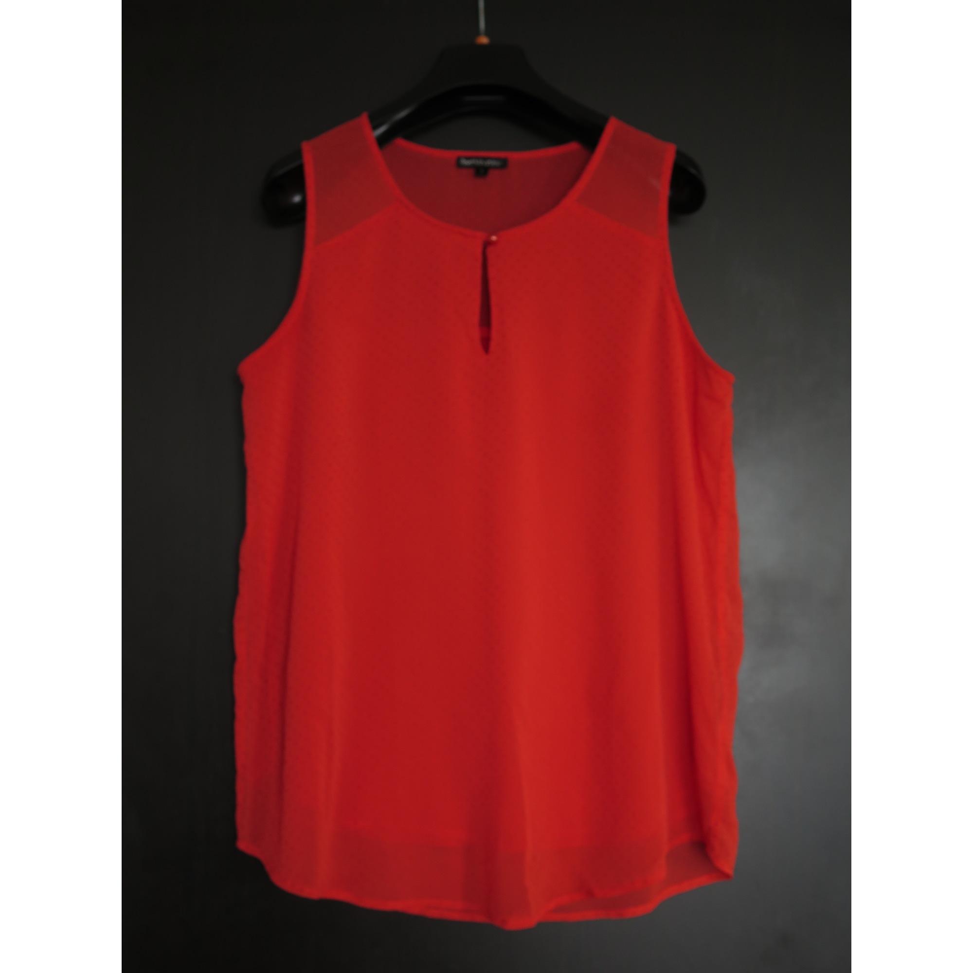 Top, tee-shirt BEST MOUNTAIN Orange