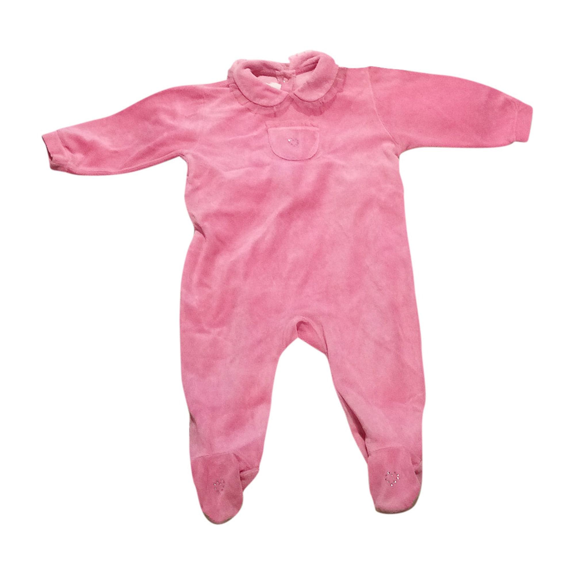 Pyjama BABY DIOR Pink, fuchsia, light pink
