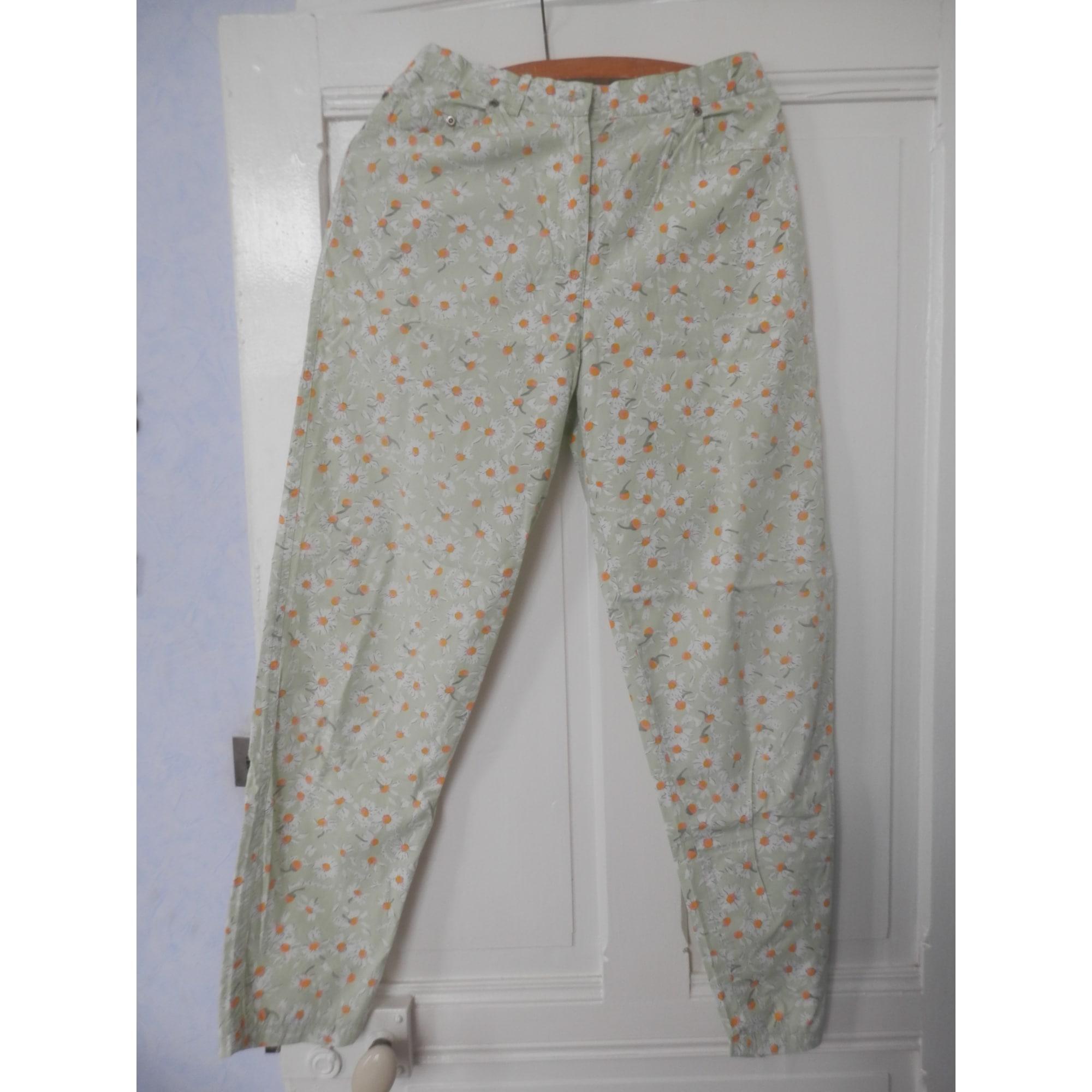 Pantalon droit DOROTENNIS Vert