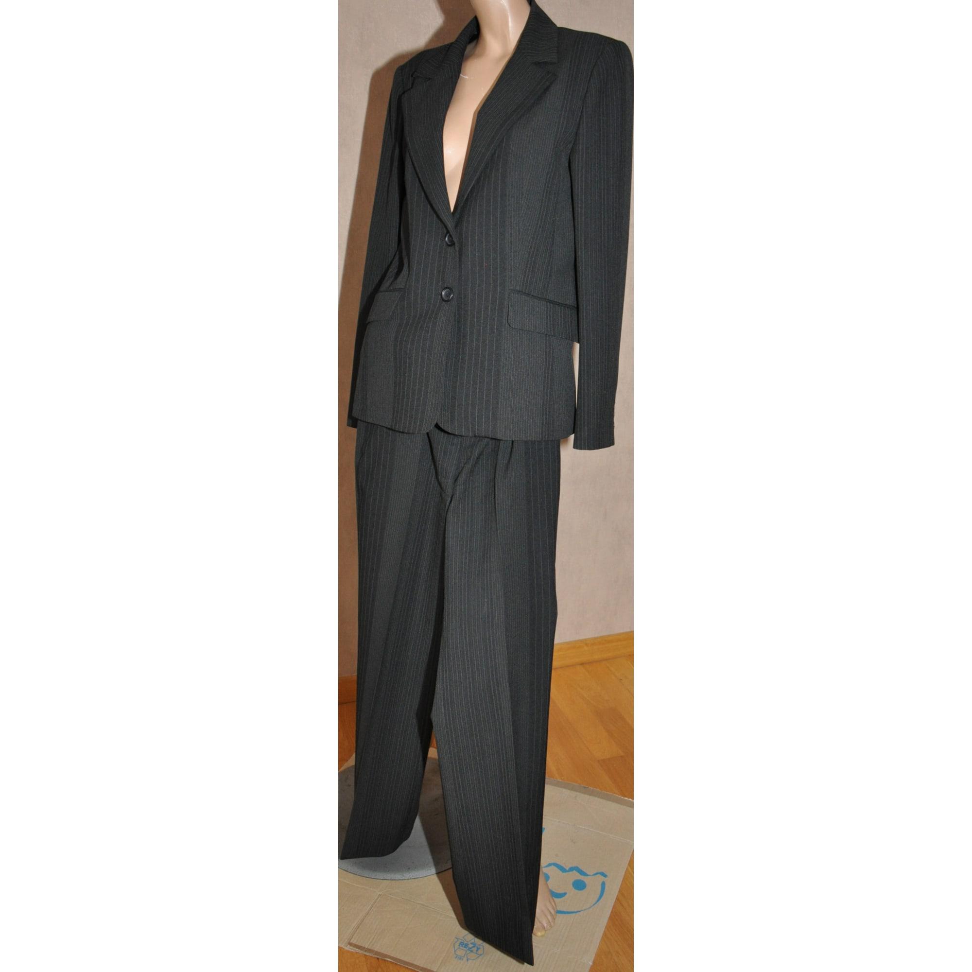 Tailleur Pantalon Naf Naf 40 L T3 Noir 4638715