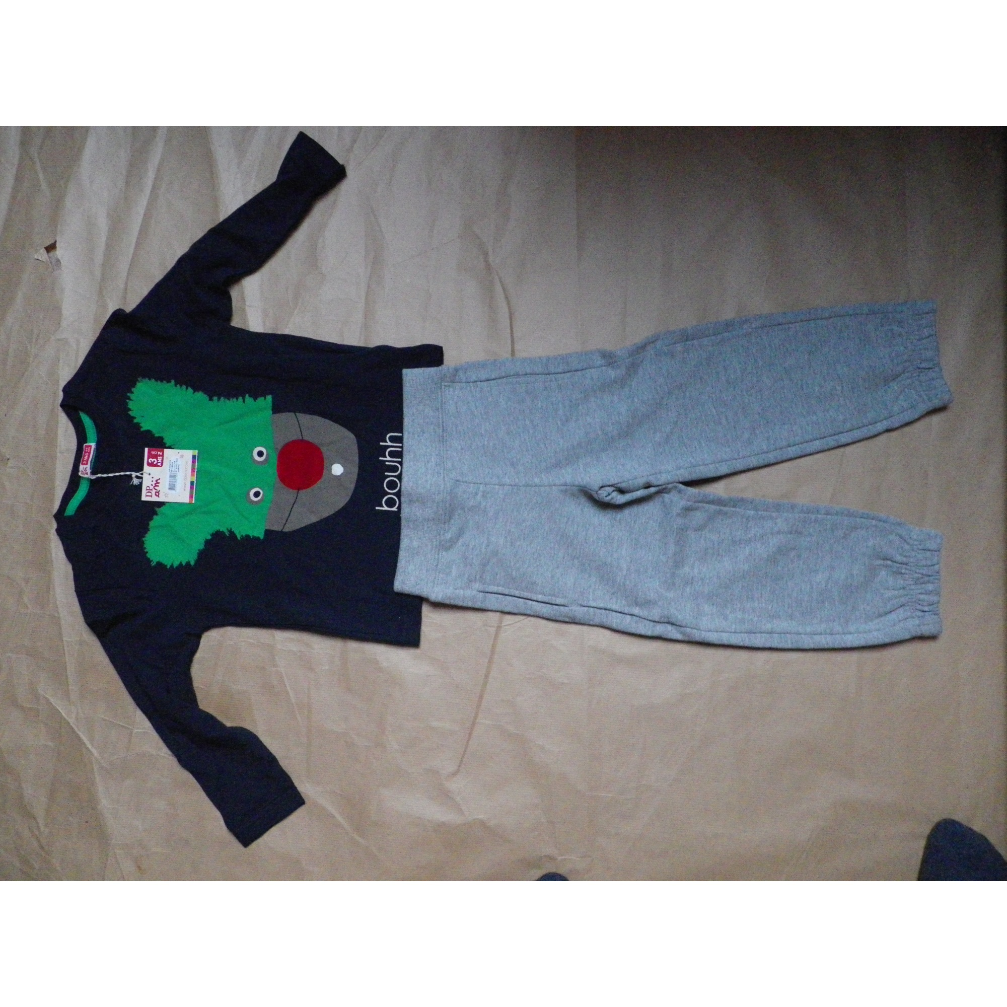 Pants Set, Outfit DU PAREIL AU MÊME DPAM Multicolor