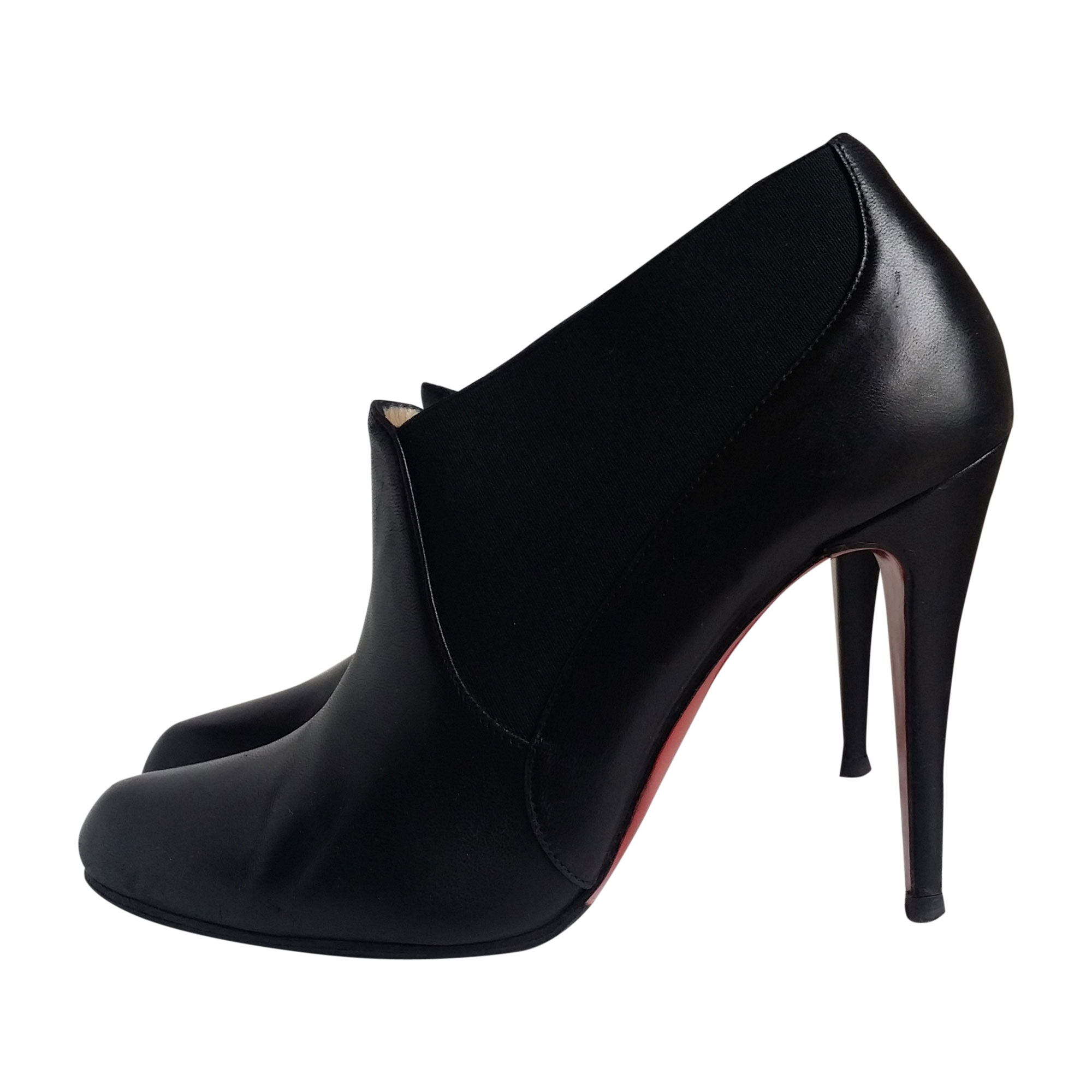 Bottines & low boots à talons CHRISTIAN LOUBOUTIN Noir