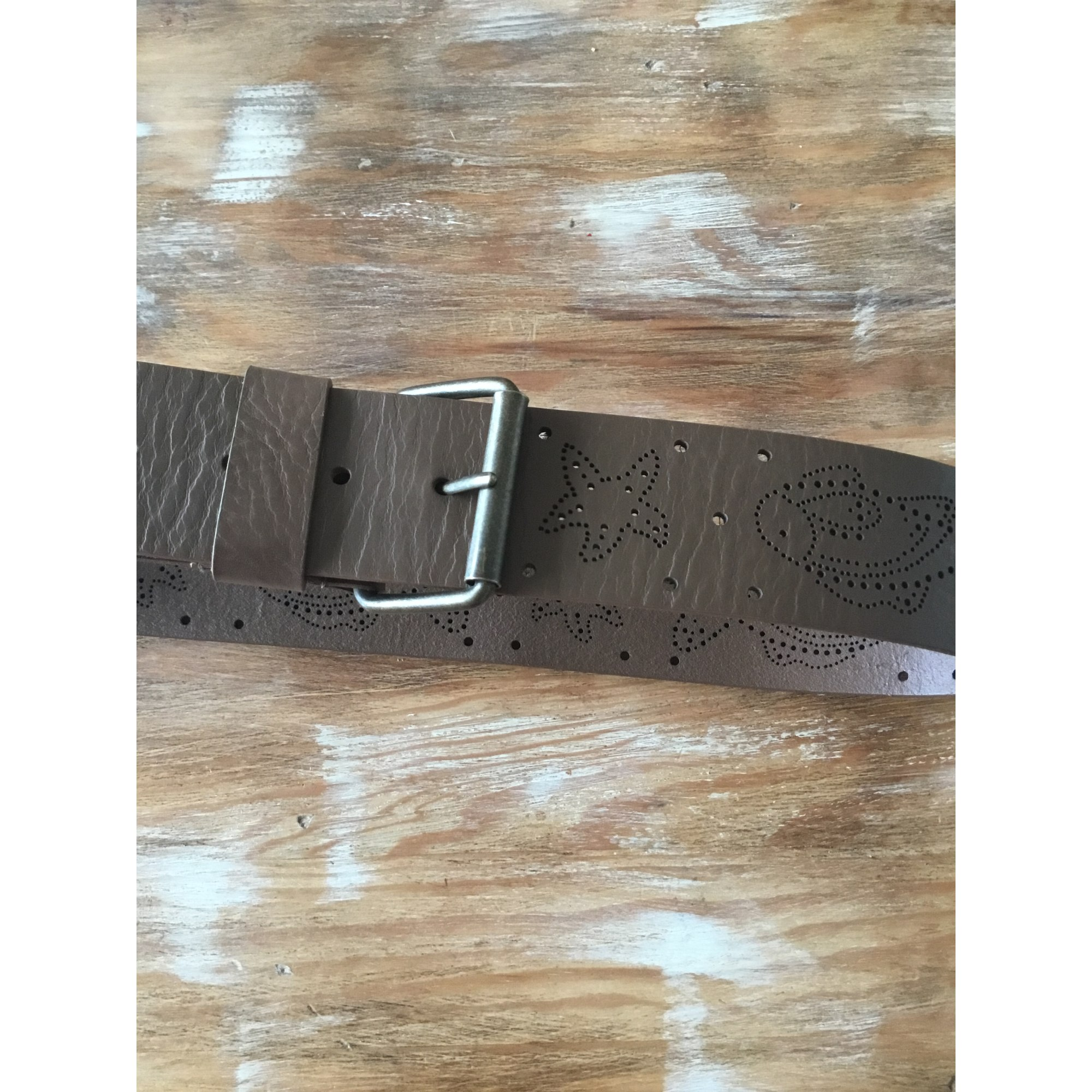 Ceinture large WEEKEND MAX MARA Marron