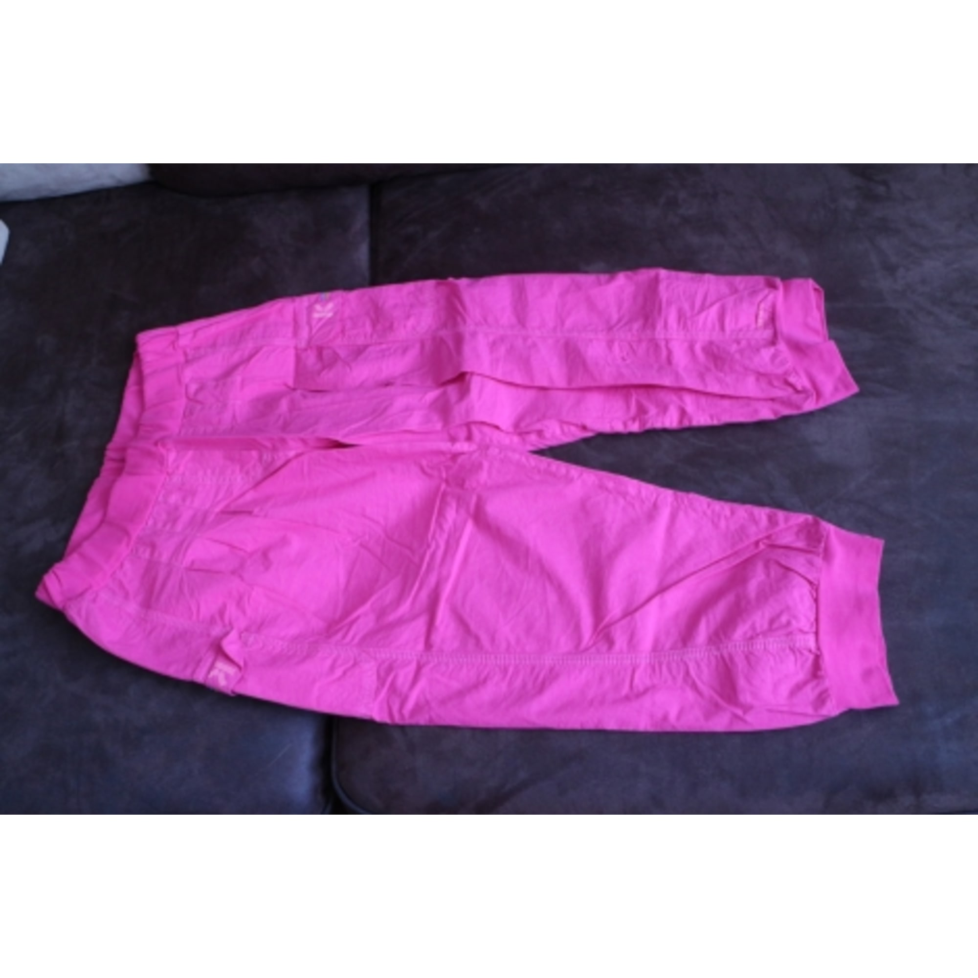 Pantalon KENZO Rose, fuschia, vieux rose