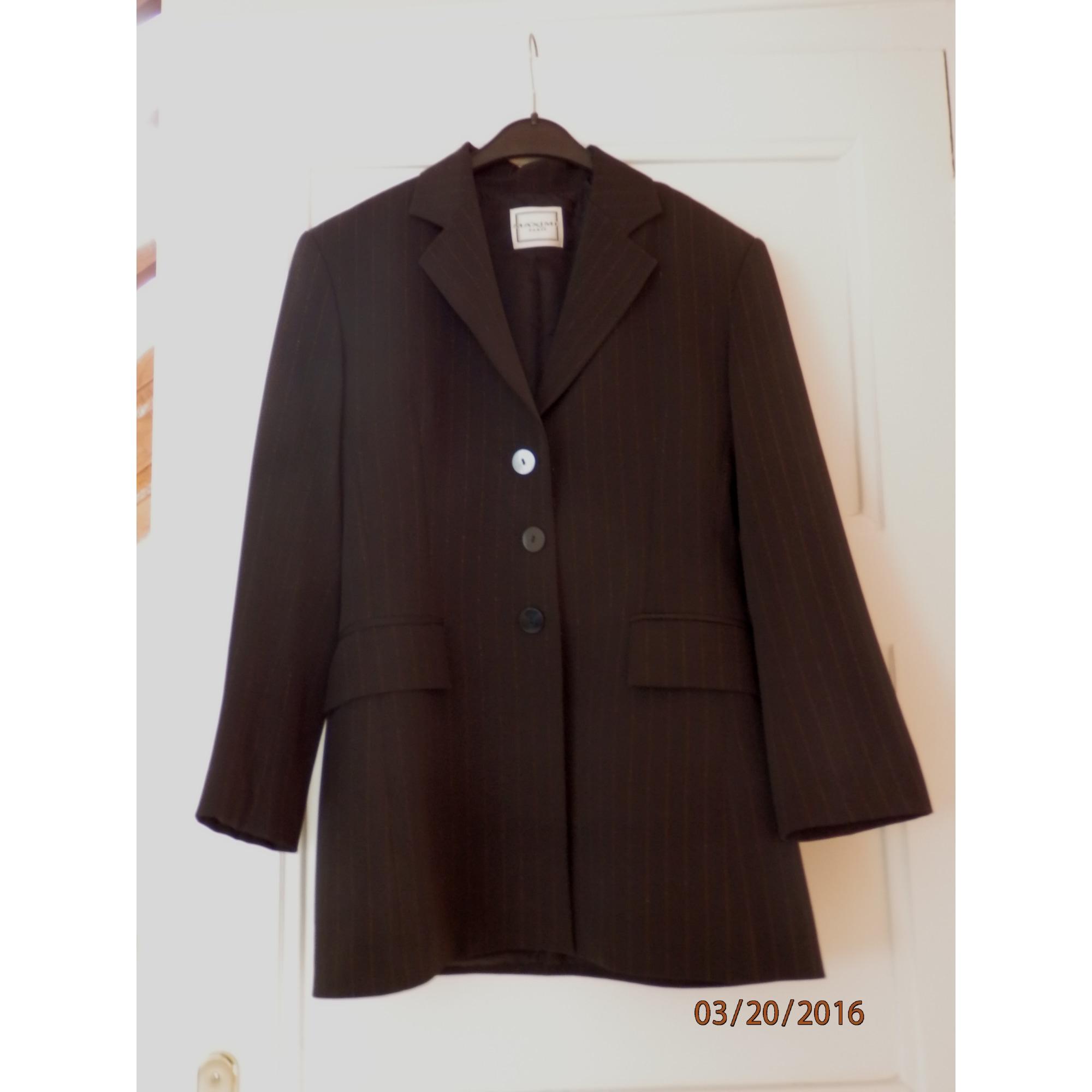 Blazer, veste tailleur MAXIME Noir