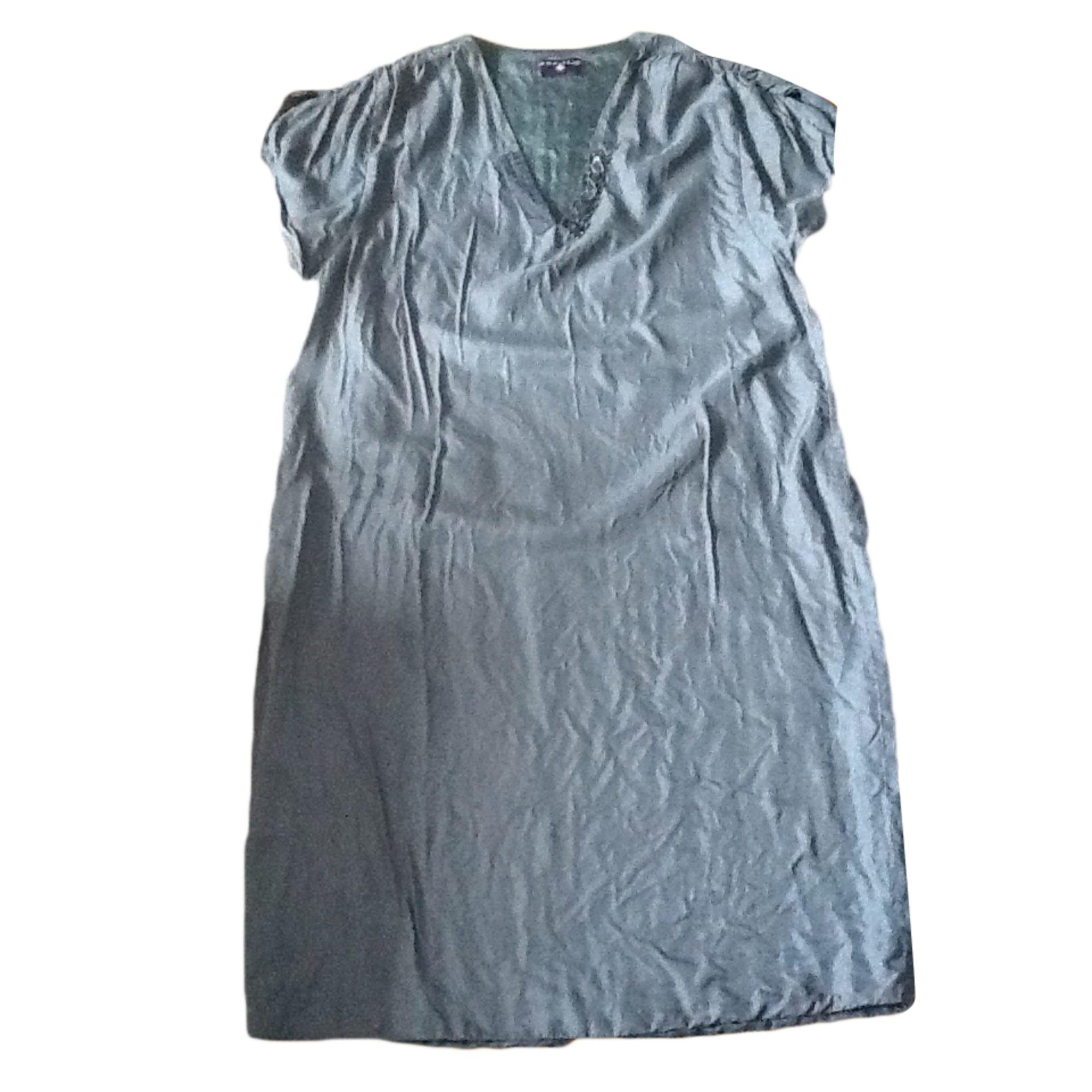 Robe mi-longue ONE STEP Gris, anthracite