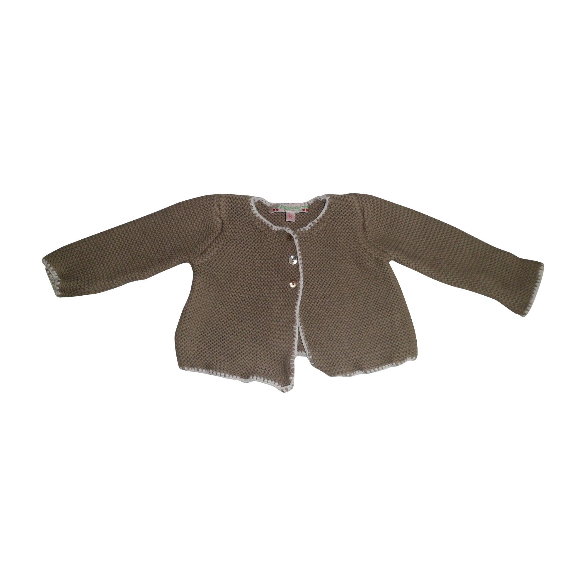 Vest, Cardigan BONPOINT Beige, camel