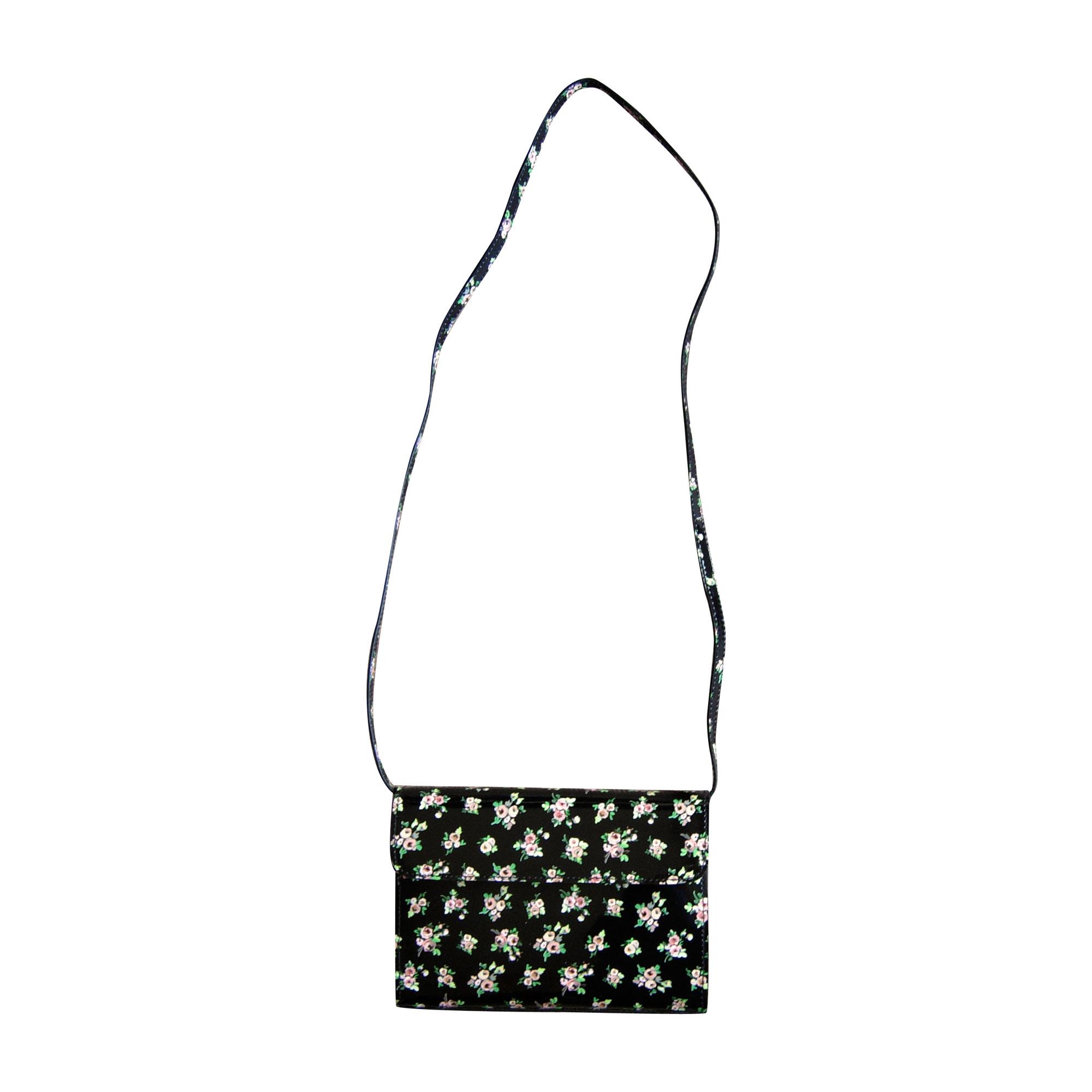 Leather Shoulder Bag CARVEN Black