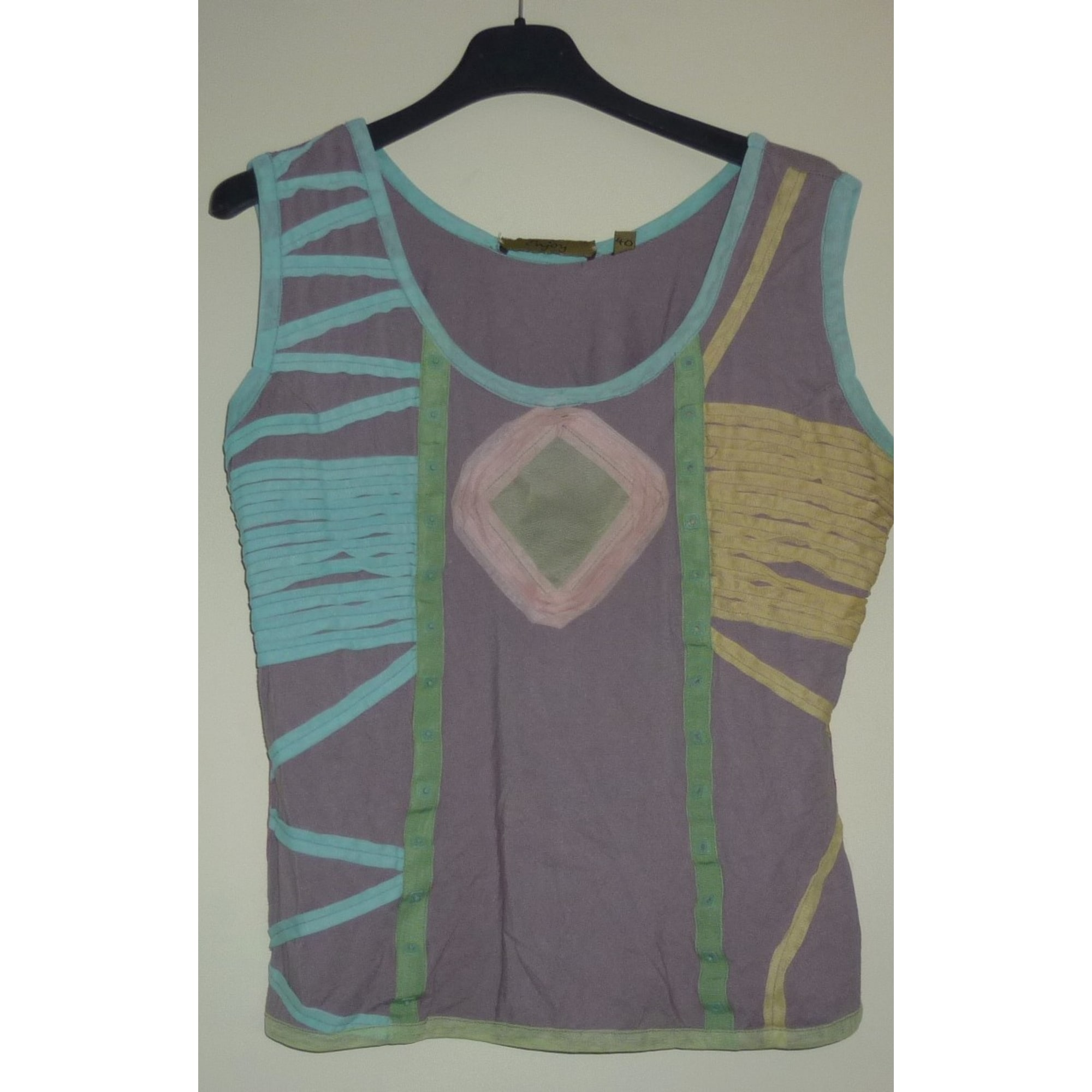 Top, tee-shirt ENJOY Multicouleur