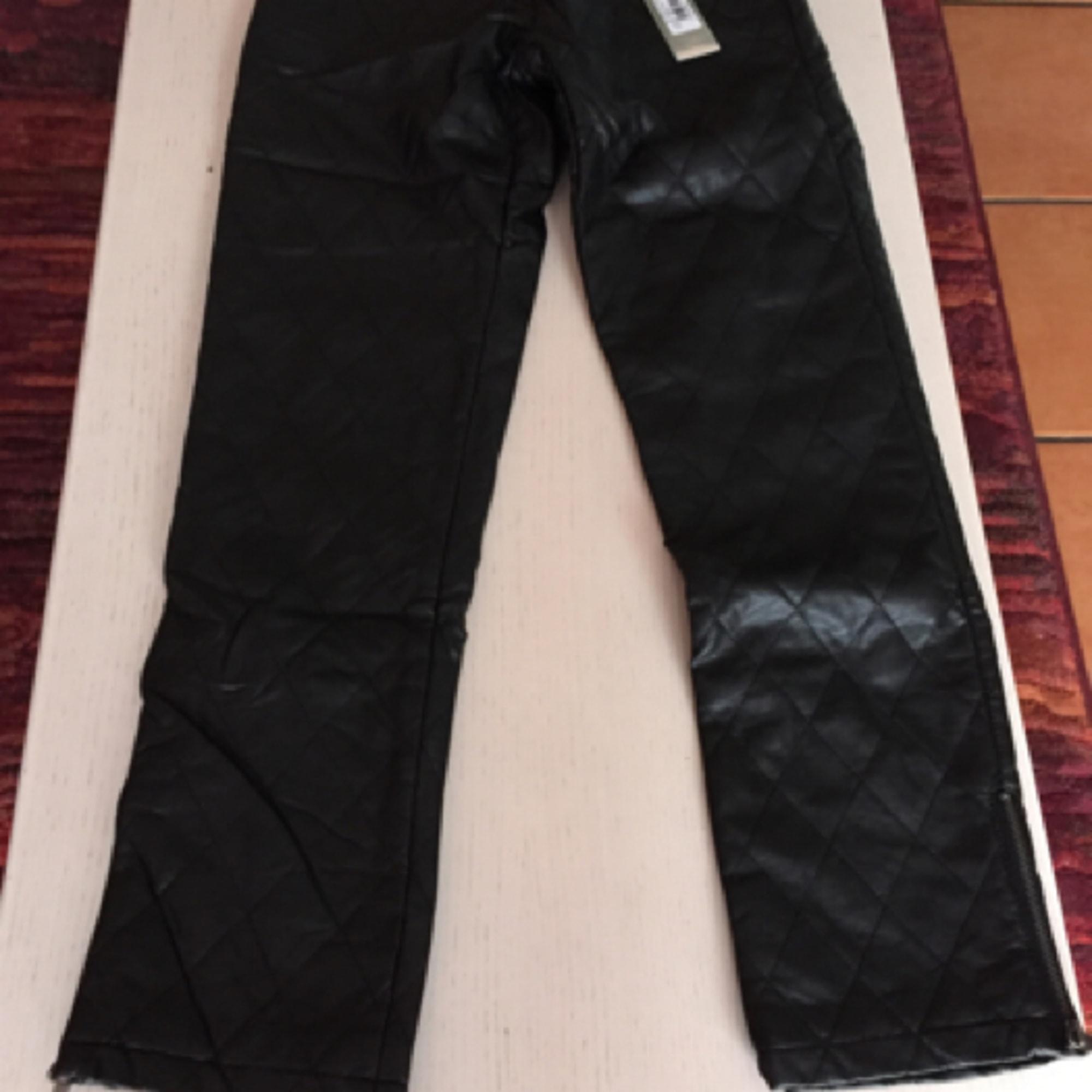 Pantalon droit GLAMOROUS Noir