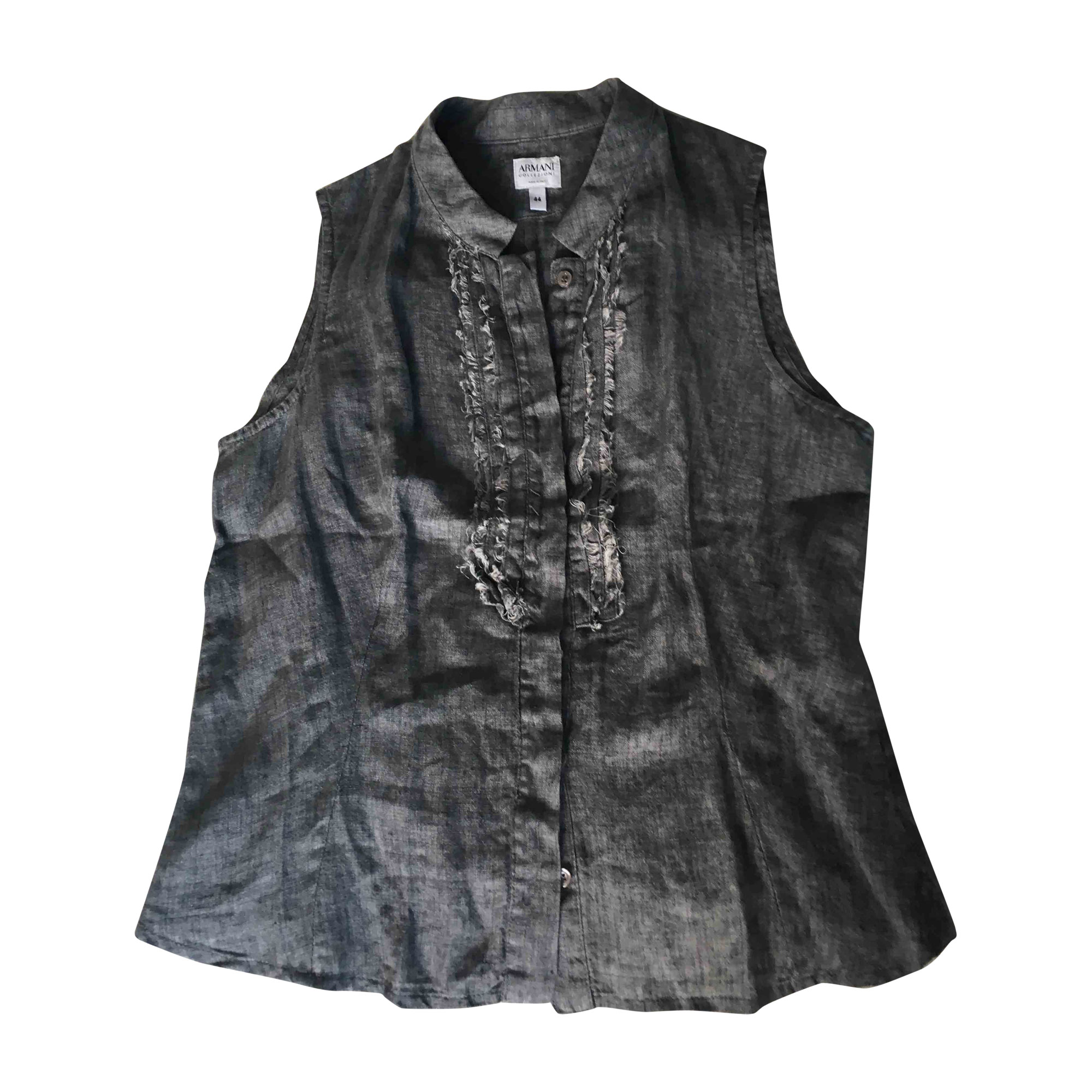Top, tee-shirt ARMANI Gris, anthracite