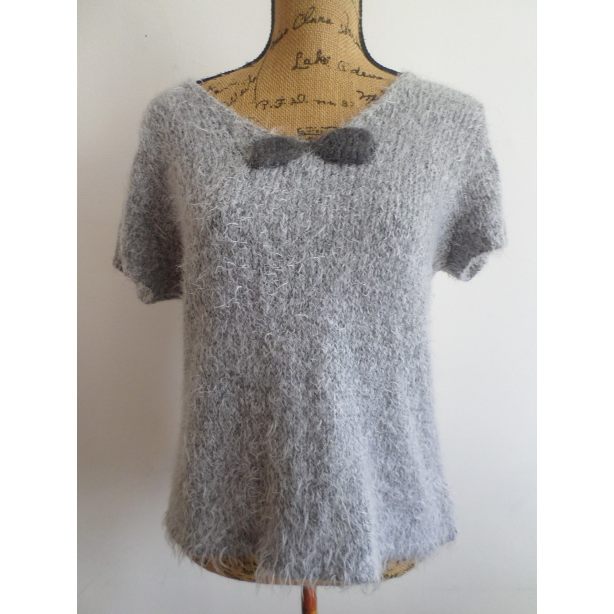 Top, tee-shirt ARMAND THIERY Gris, anthracite