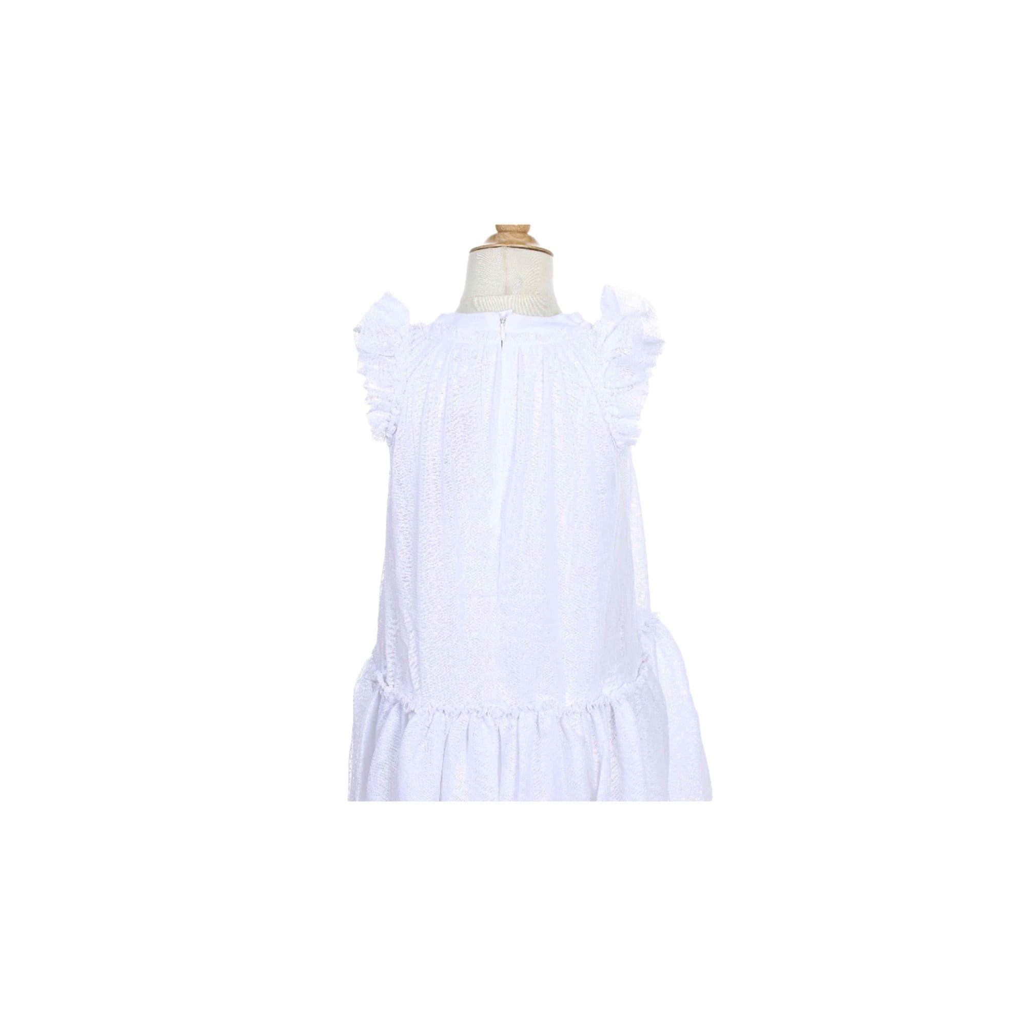Robe IKKS Blanc, blanc cassé, écru