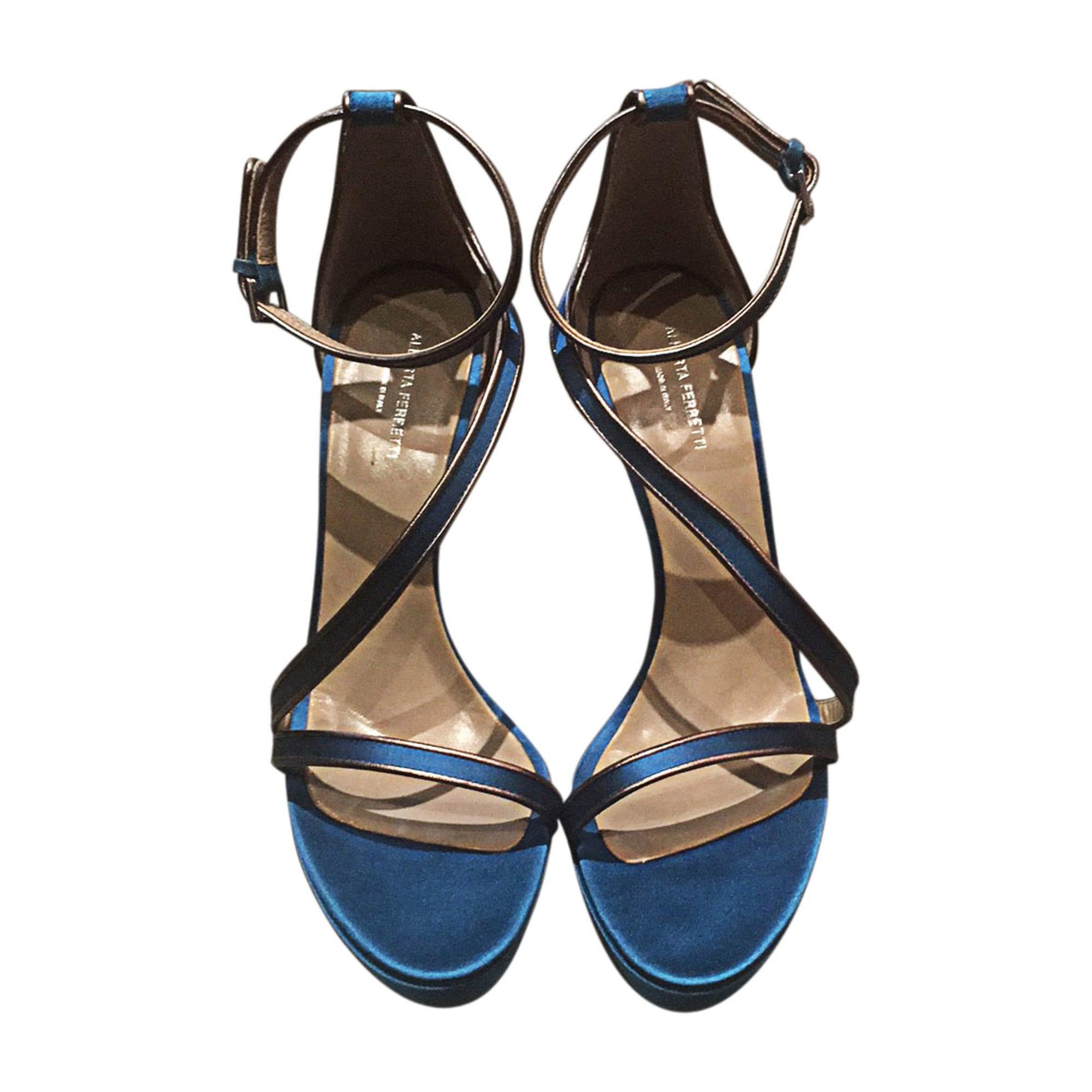 Escarpins PHILOSOPHY DI ALBERTA FERRETTI Bleu, bleu marine, bleu turquoise