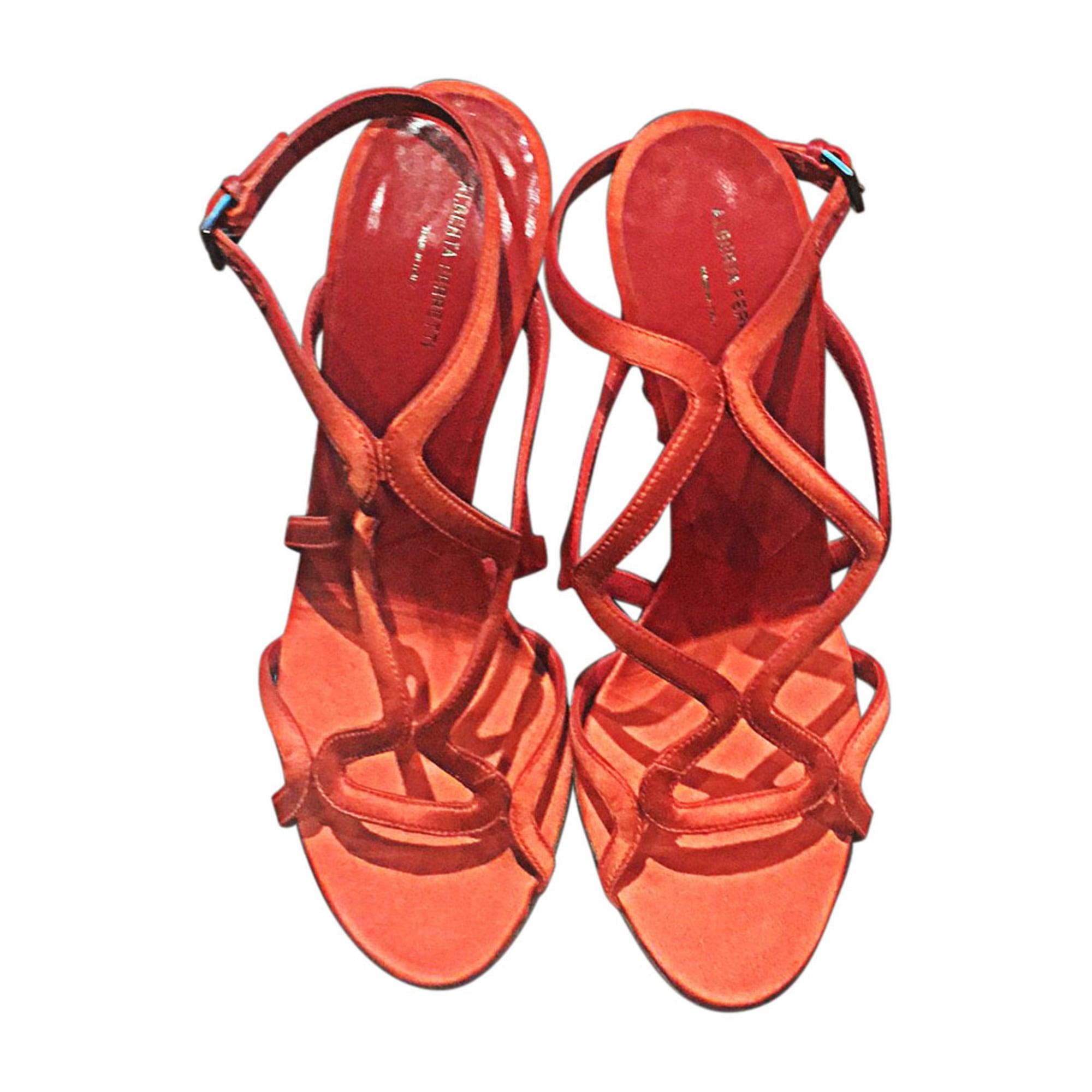Sandales à talons PHILOSOPHY DI ALBERTA FERRETTI Orange
