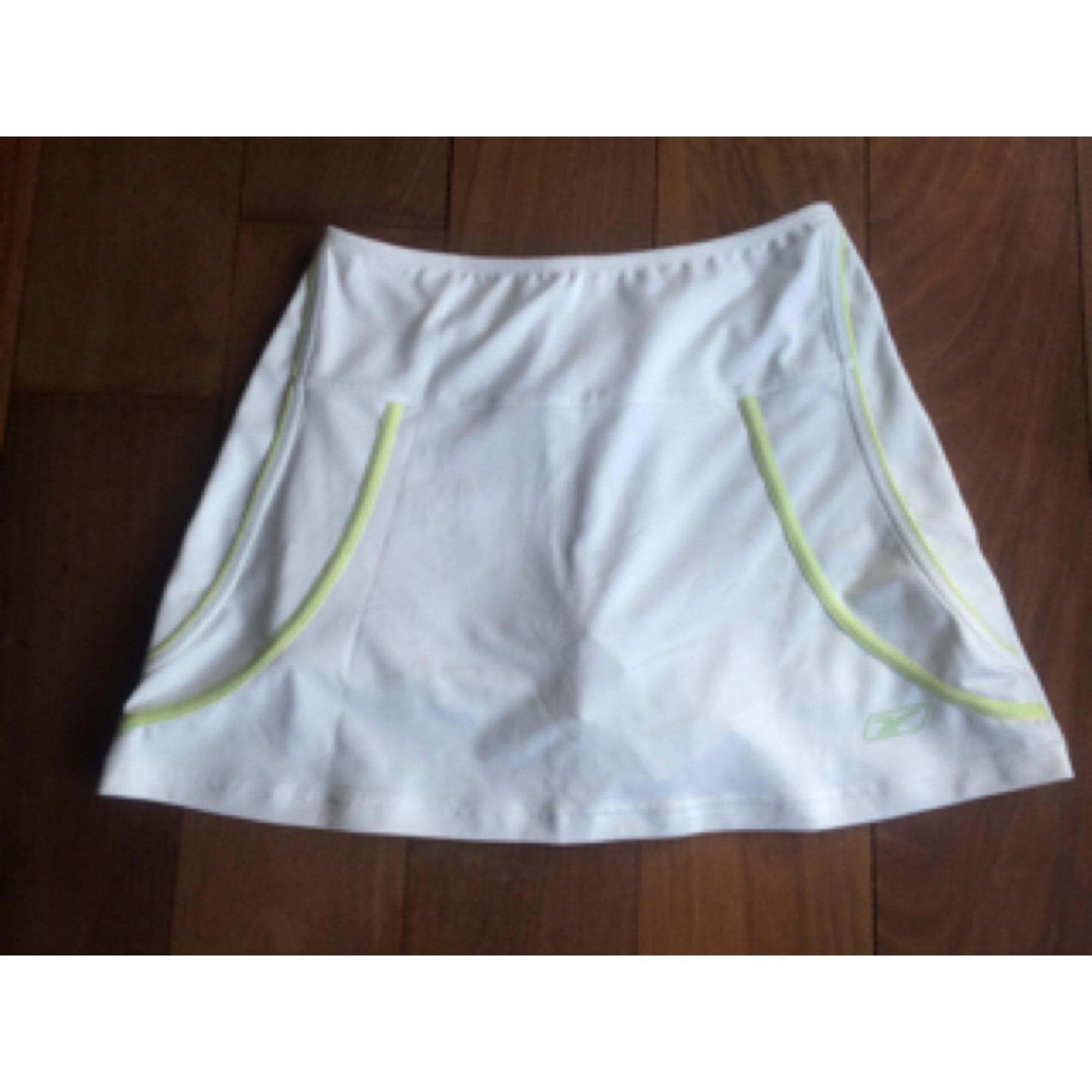 Pantalon de fitness REEBOK Blanc, blanc cassé, écru