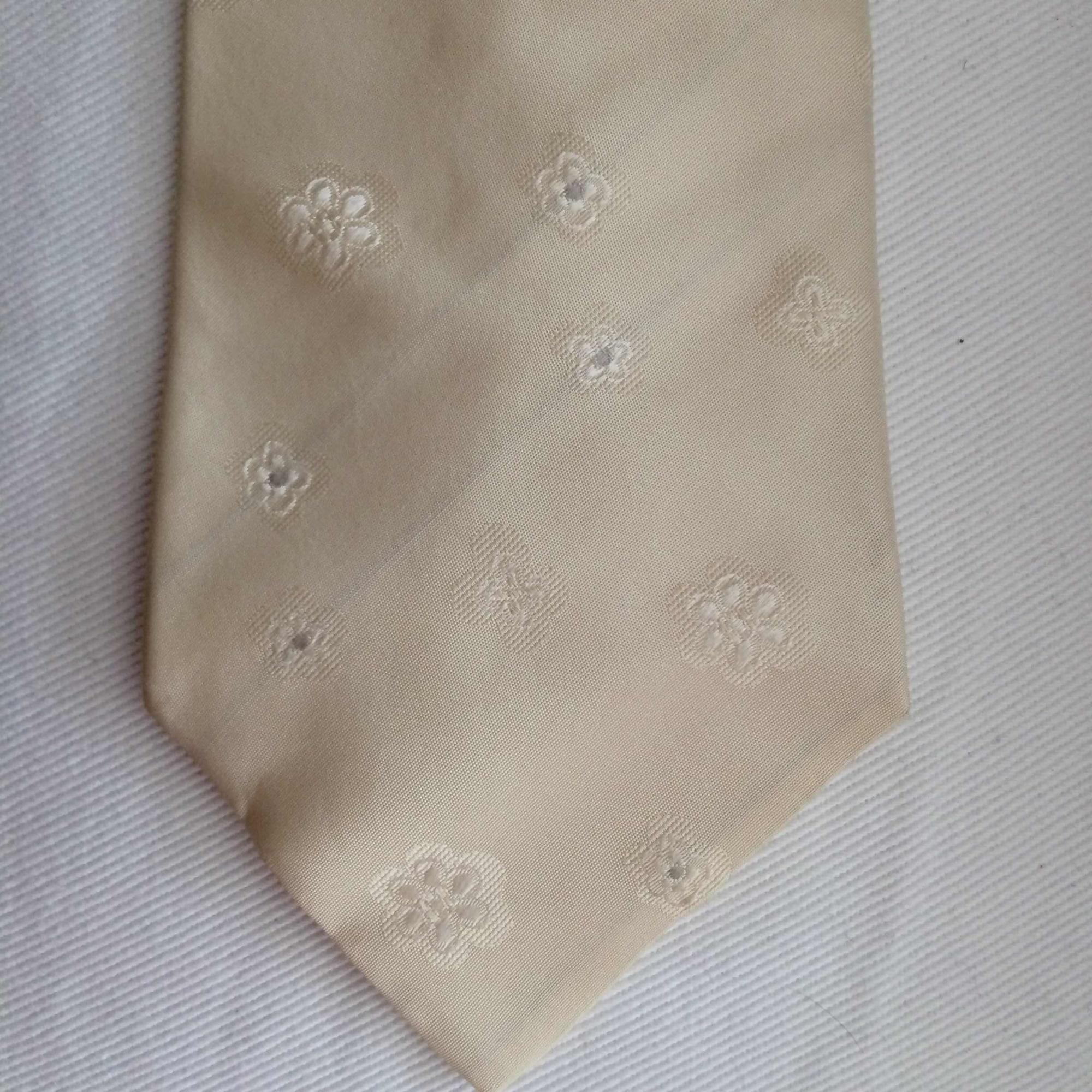 Cravate CELIO Blanc, blanc cassé, écru