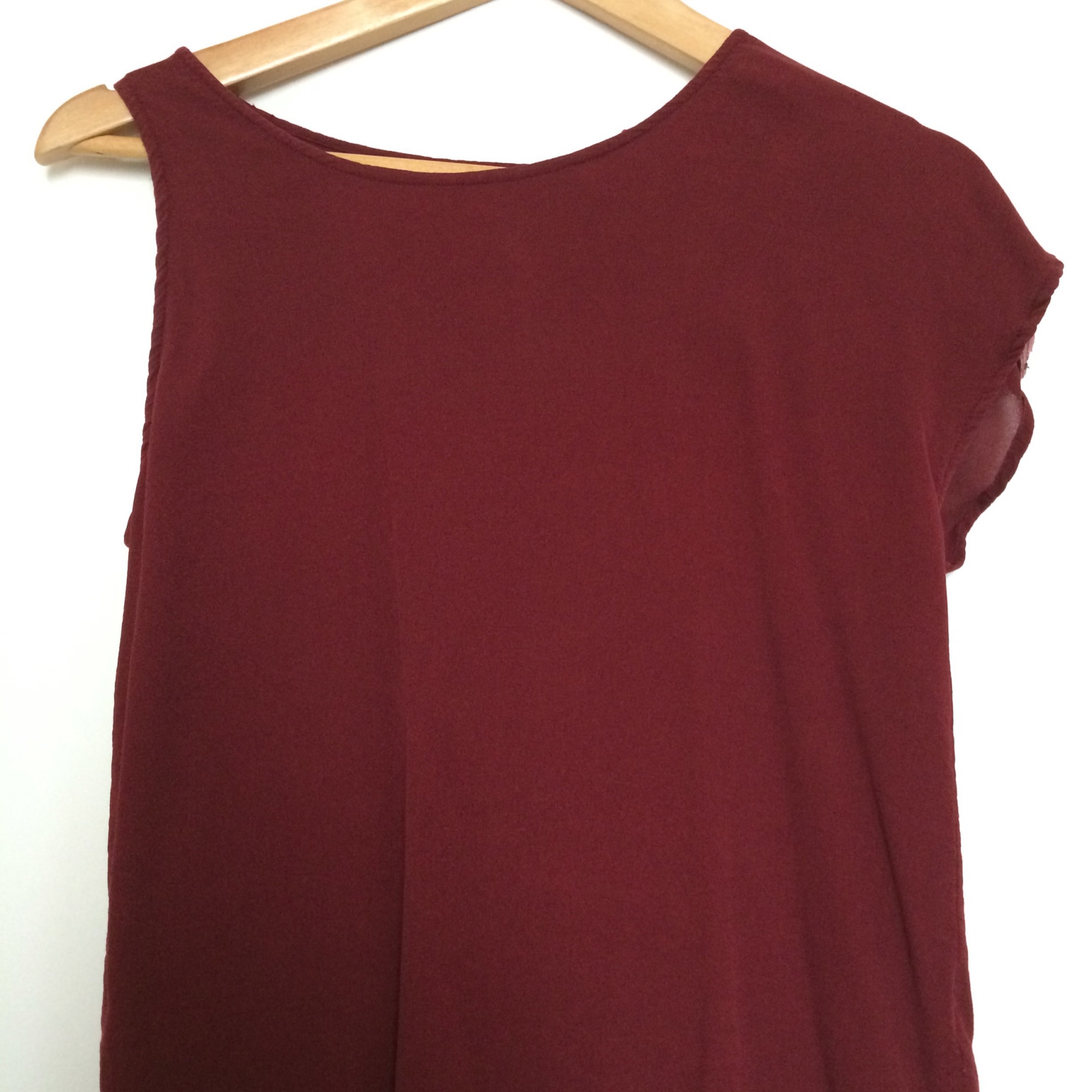 Top, tee-shirt ELEVEN PARIS Rouge, bordeaux