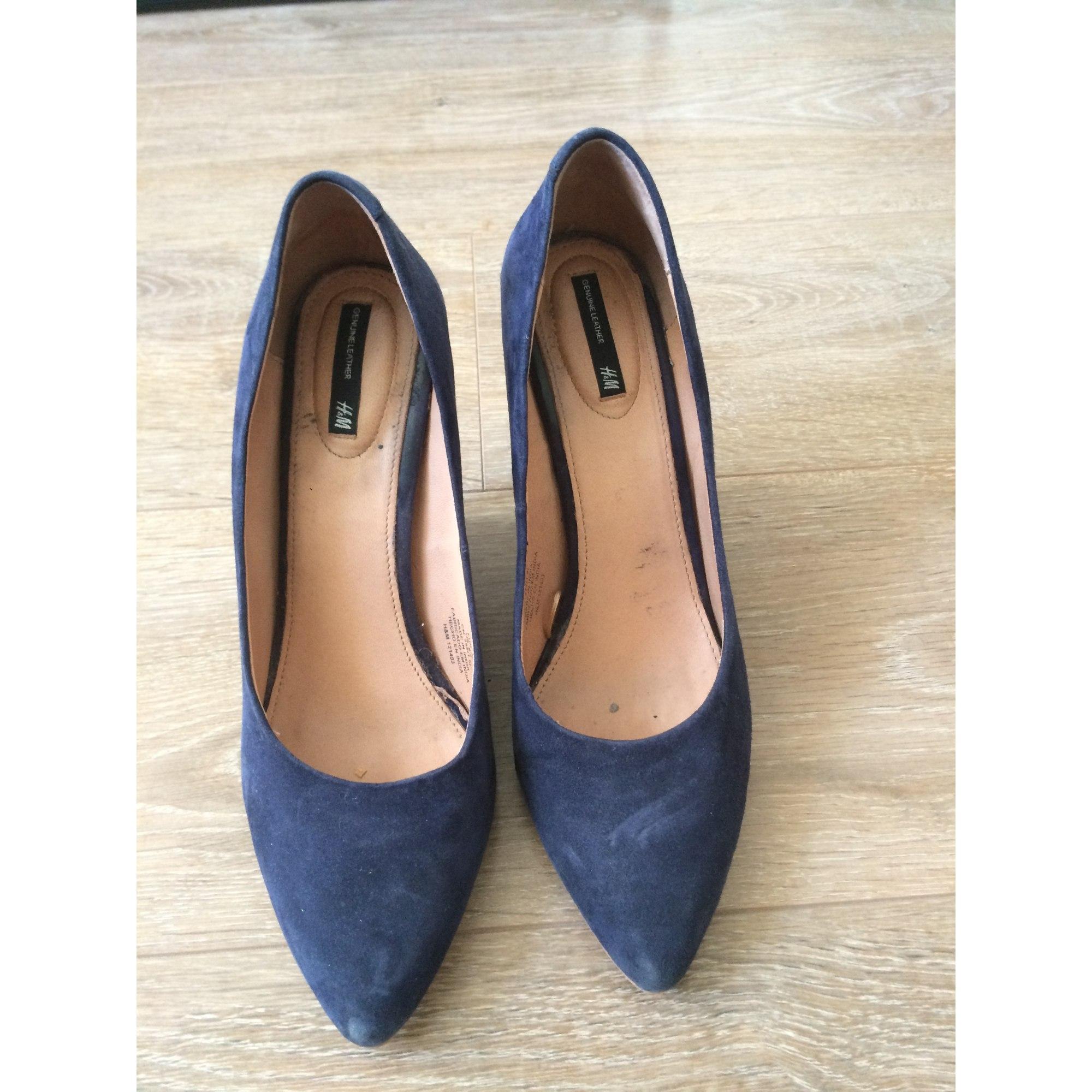 Escarpins compensés H&M Bleu, bleu marine, bleu turquoise