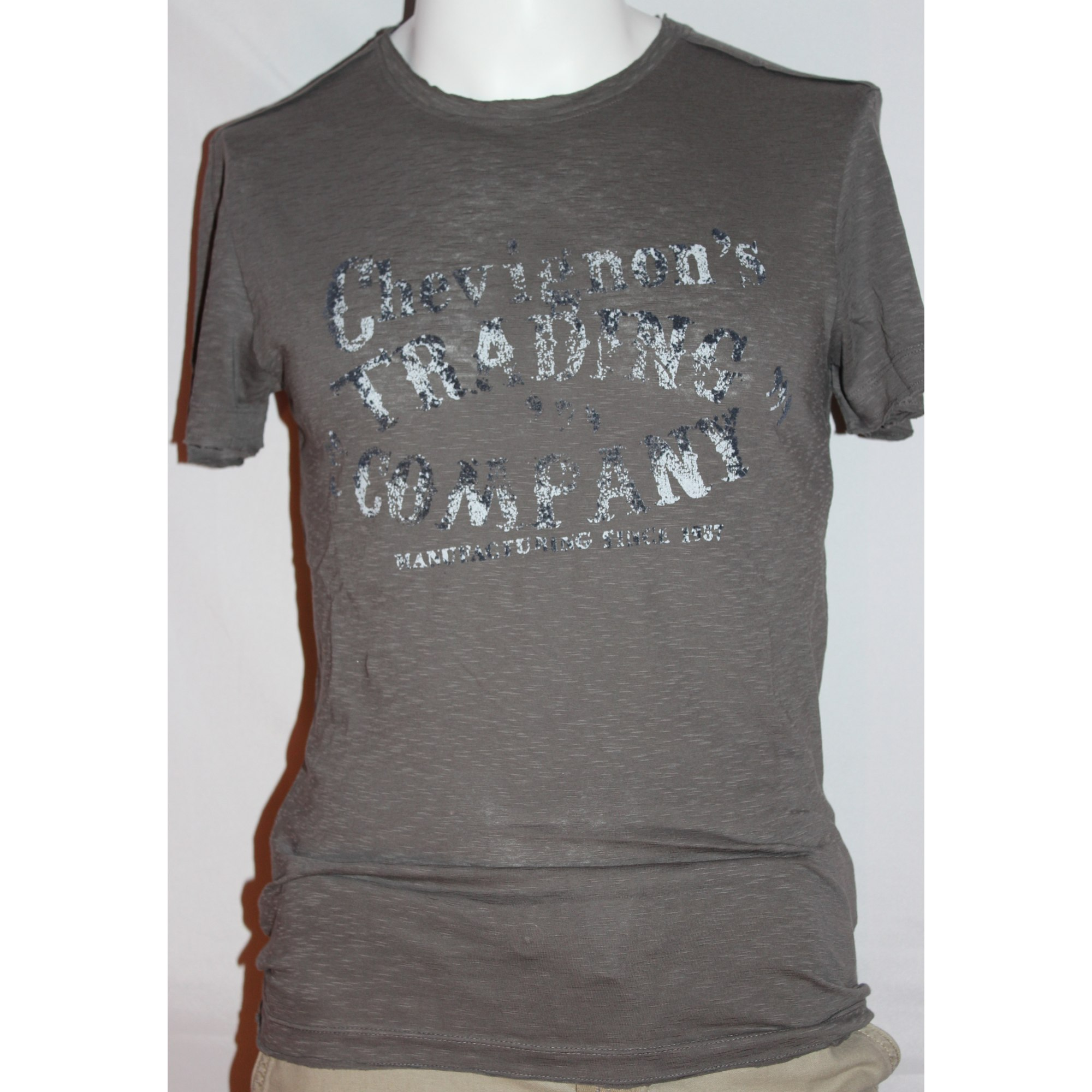 T-shirt CHEVIGNON Gray, charcoal