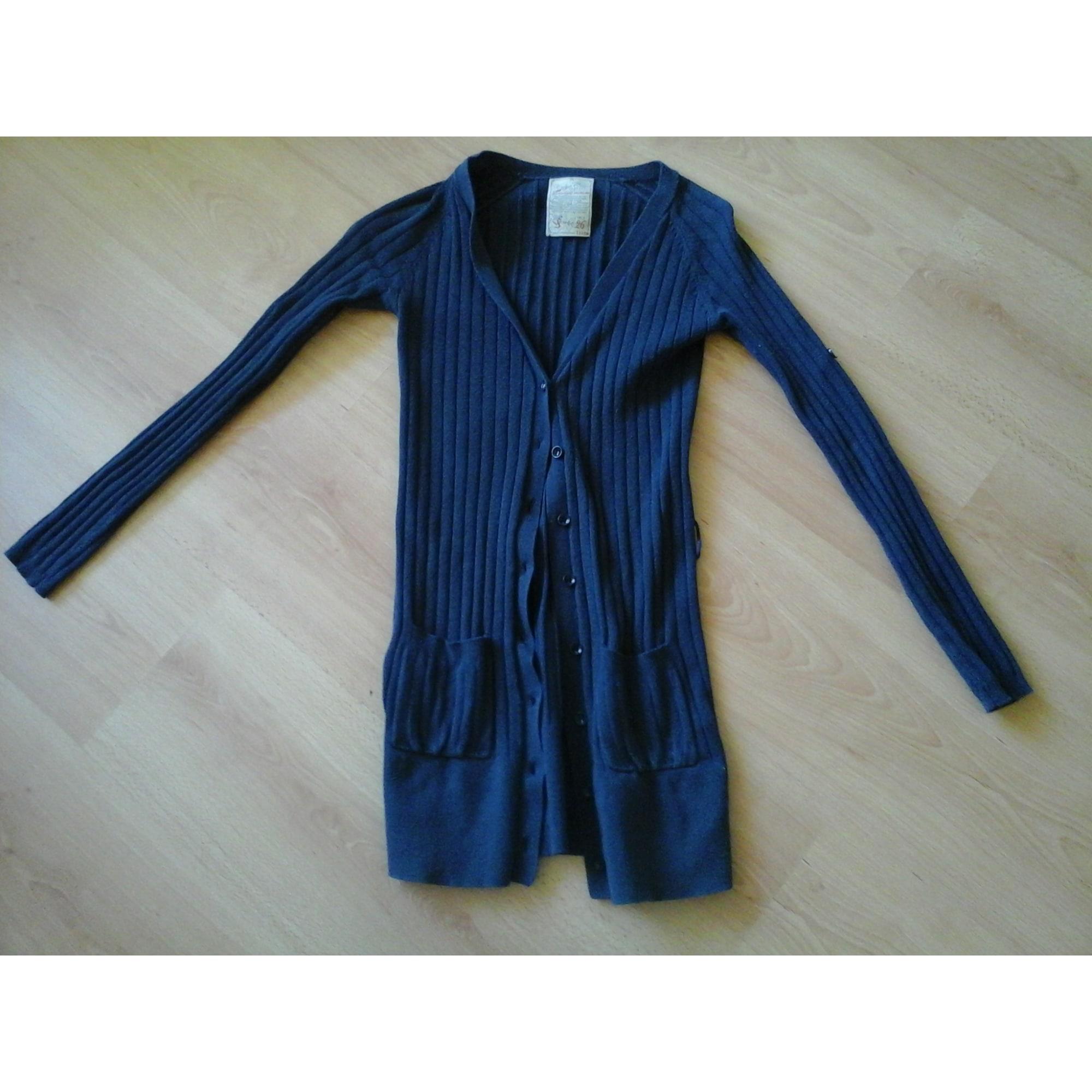 Gilet, cardigan PULL & BEAR Bleu, bleu marine, bleu turquoise