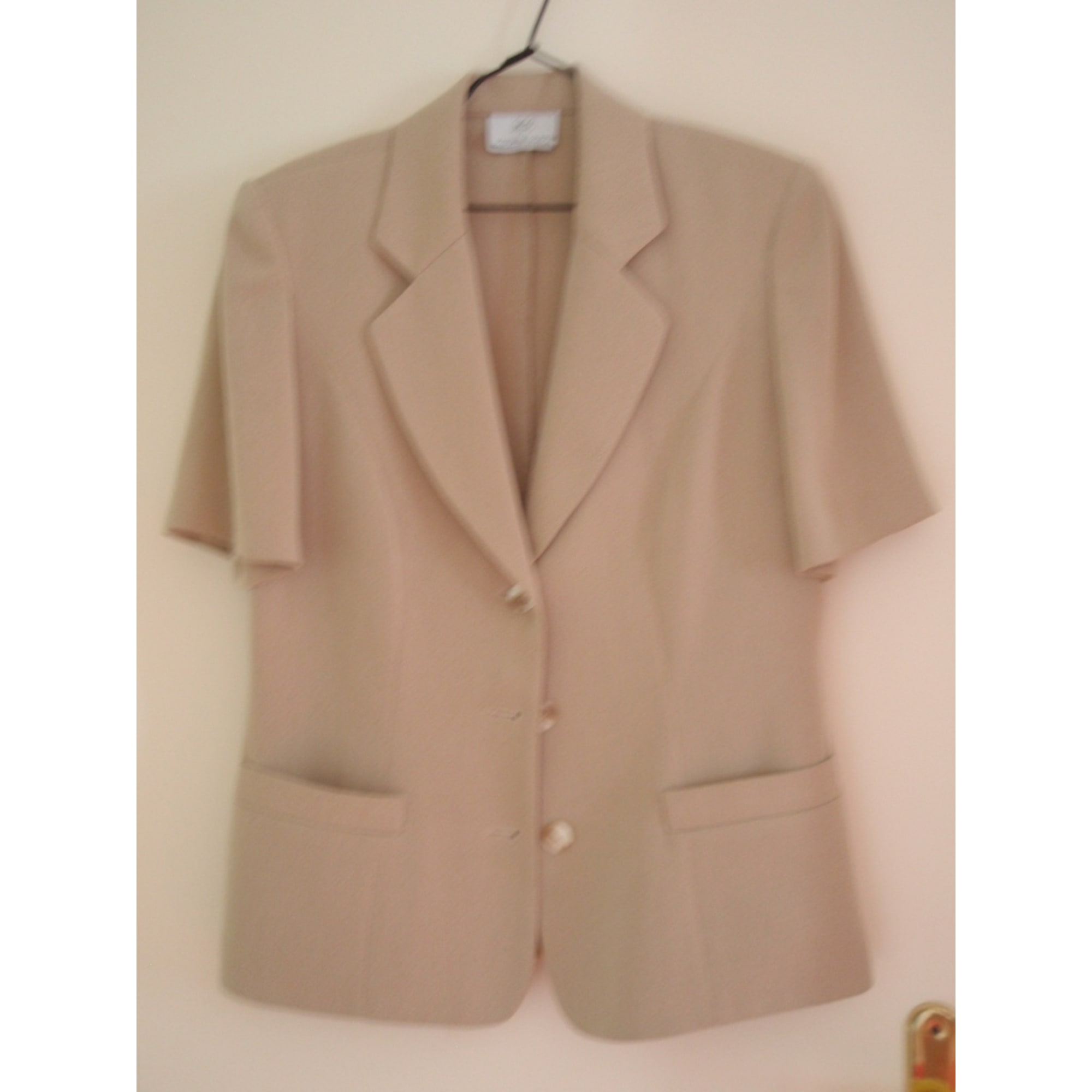 Blazer, veste tailleur MARCELLE GRIFFON Beige, camel
