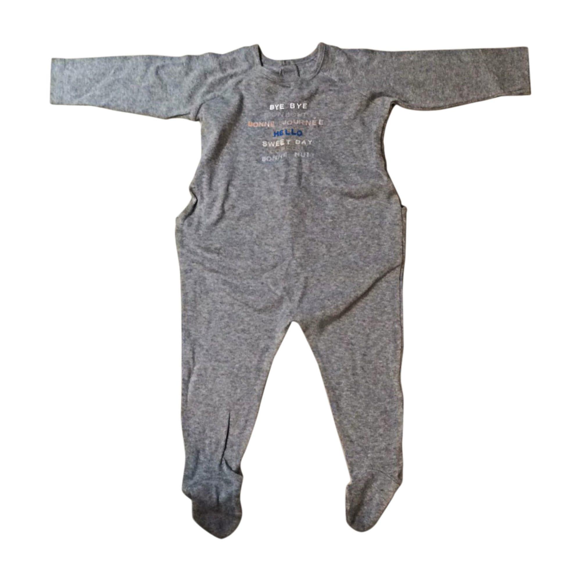 Pyjama BONPOINT Gris, anthracite