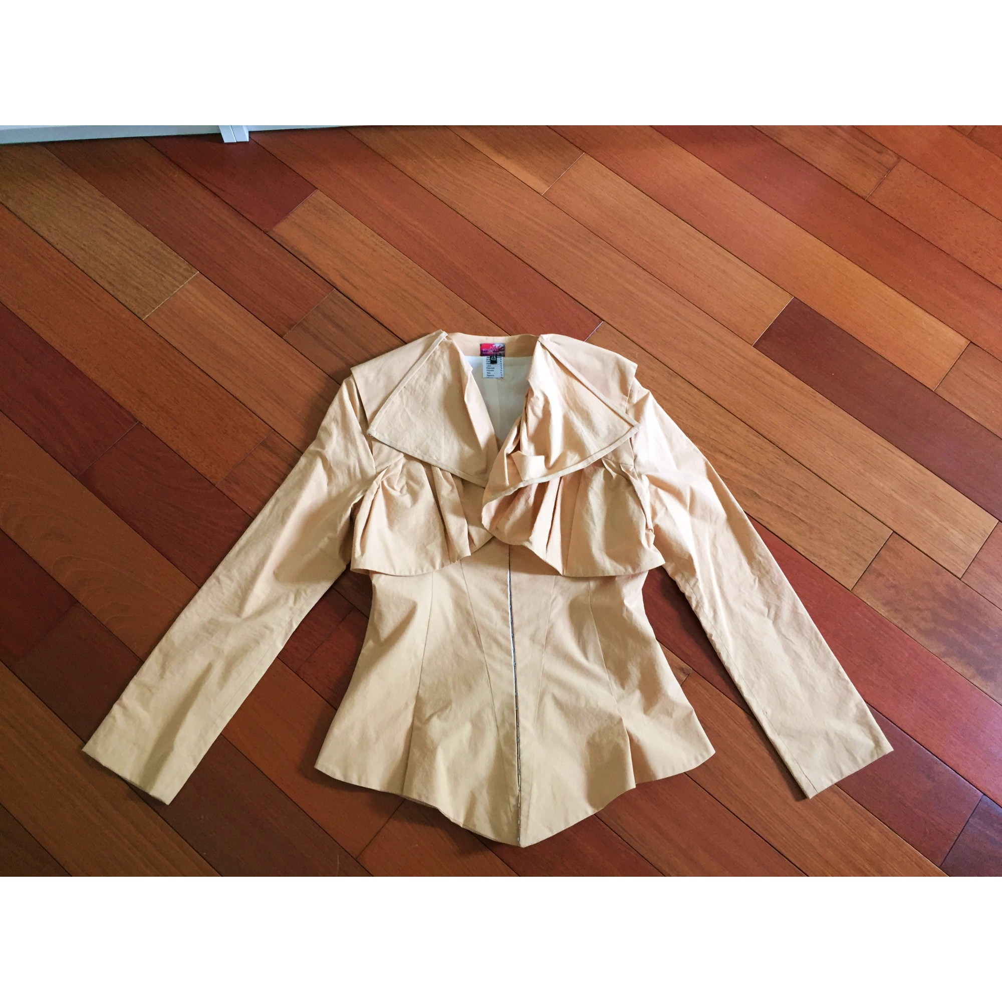 Blazer, veste tailleur JULIE SCHOUVEY Orange