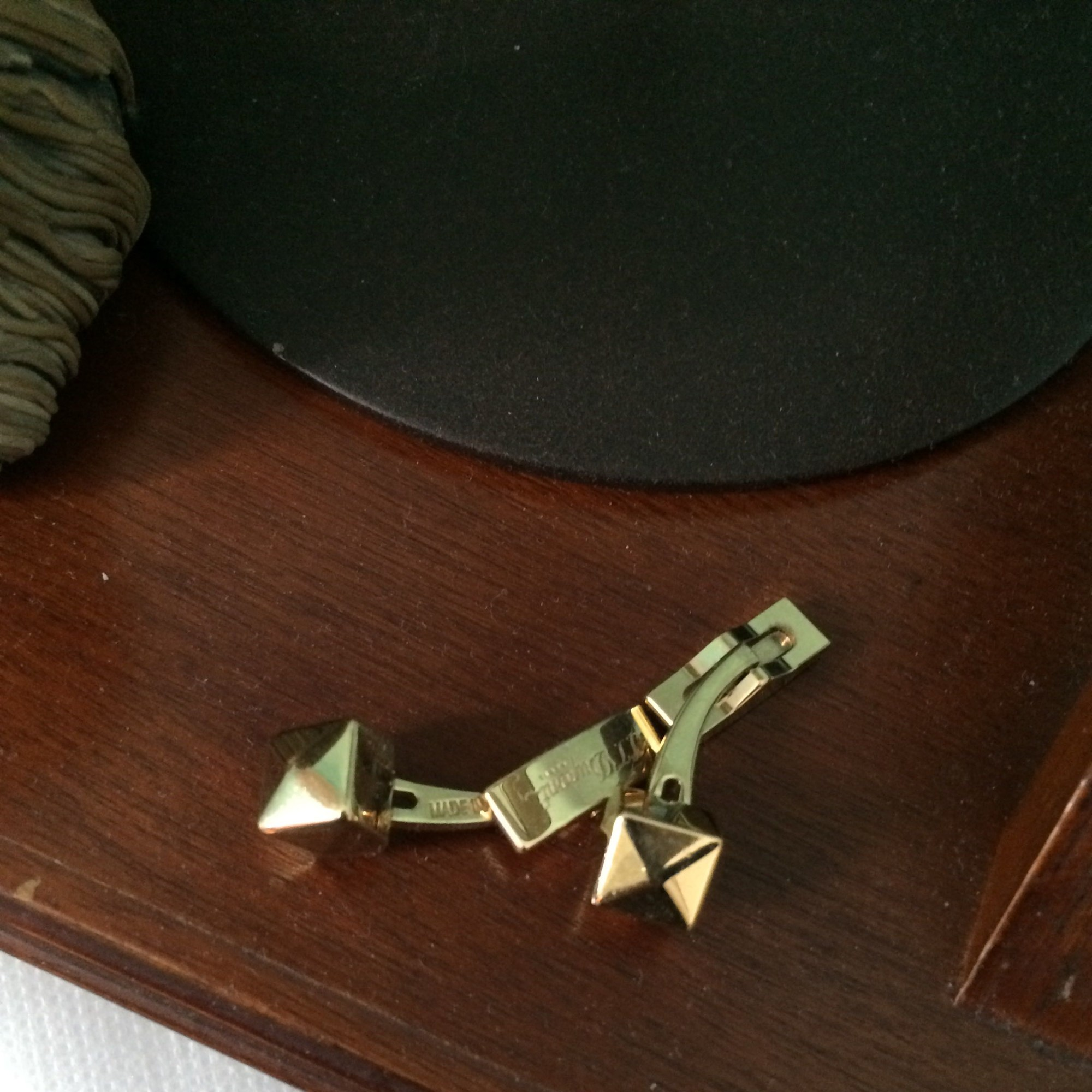 Gemelli S.T DUPONT Dorato, bronzo, rame