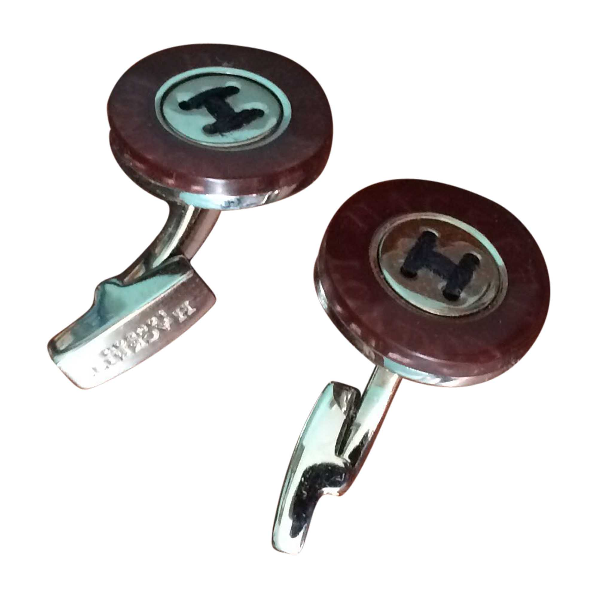 Cufflinks HACKETT Red, burgundy