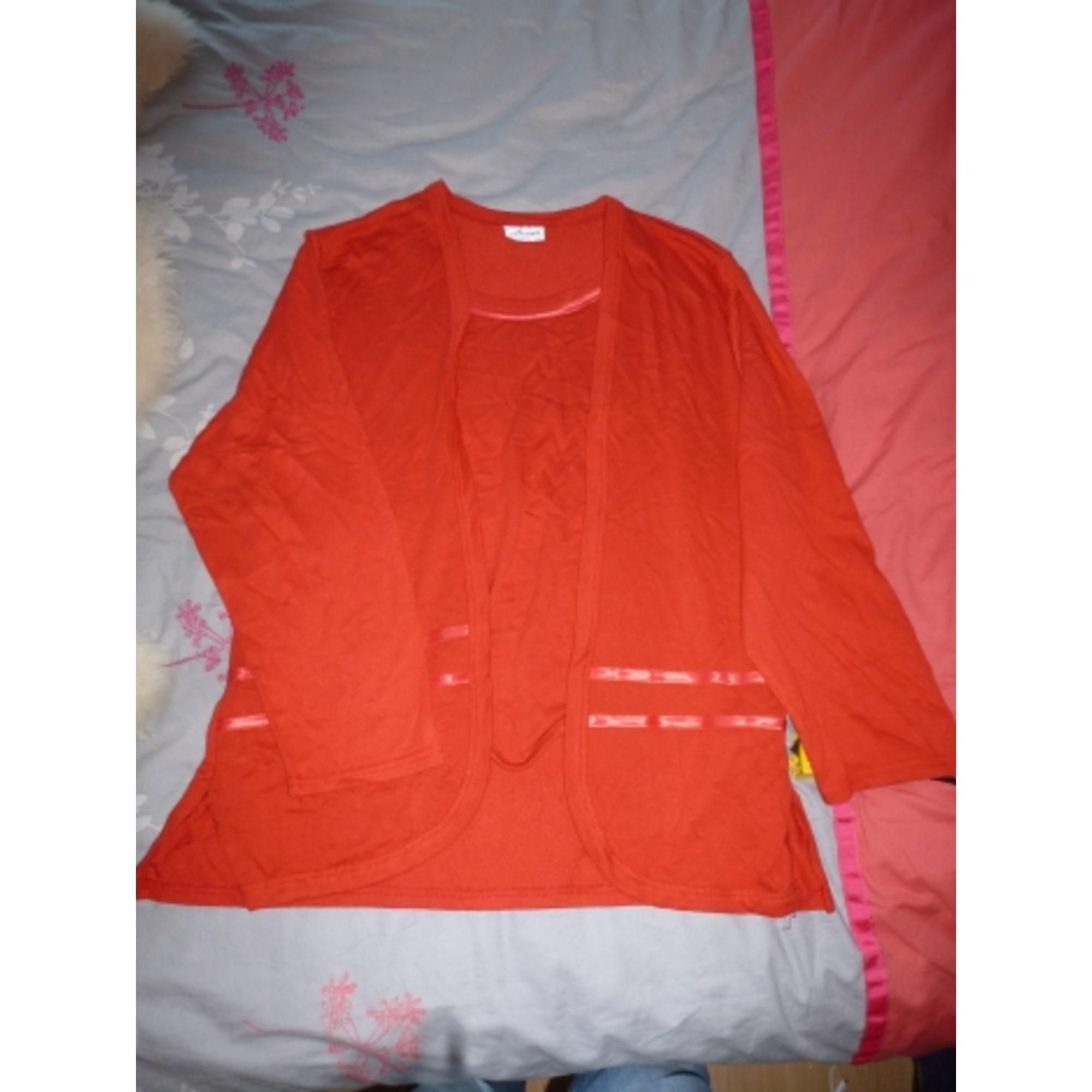 Top, tee-shirt ALEXA'S Rouge, bordeaux