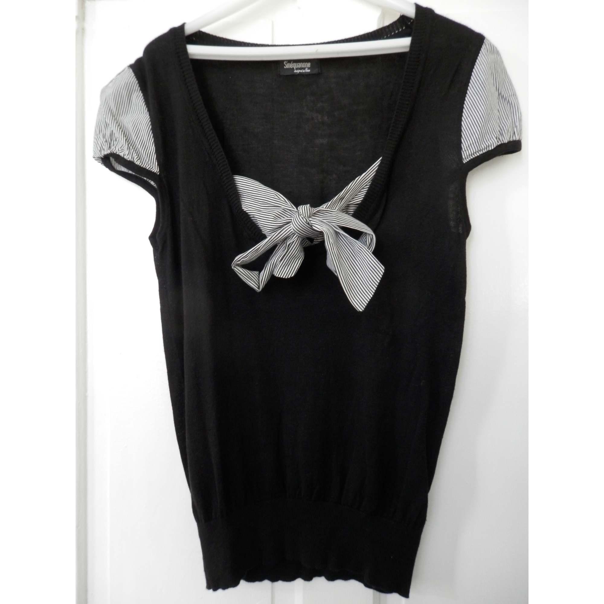 Top, tee-shirt SINÉQUANONE Noir