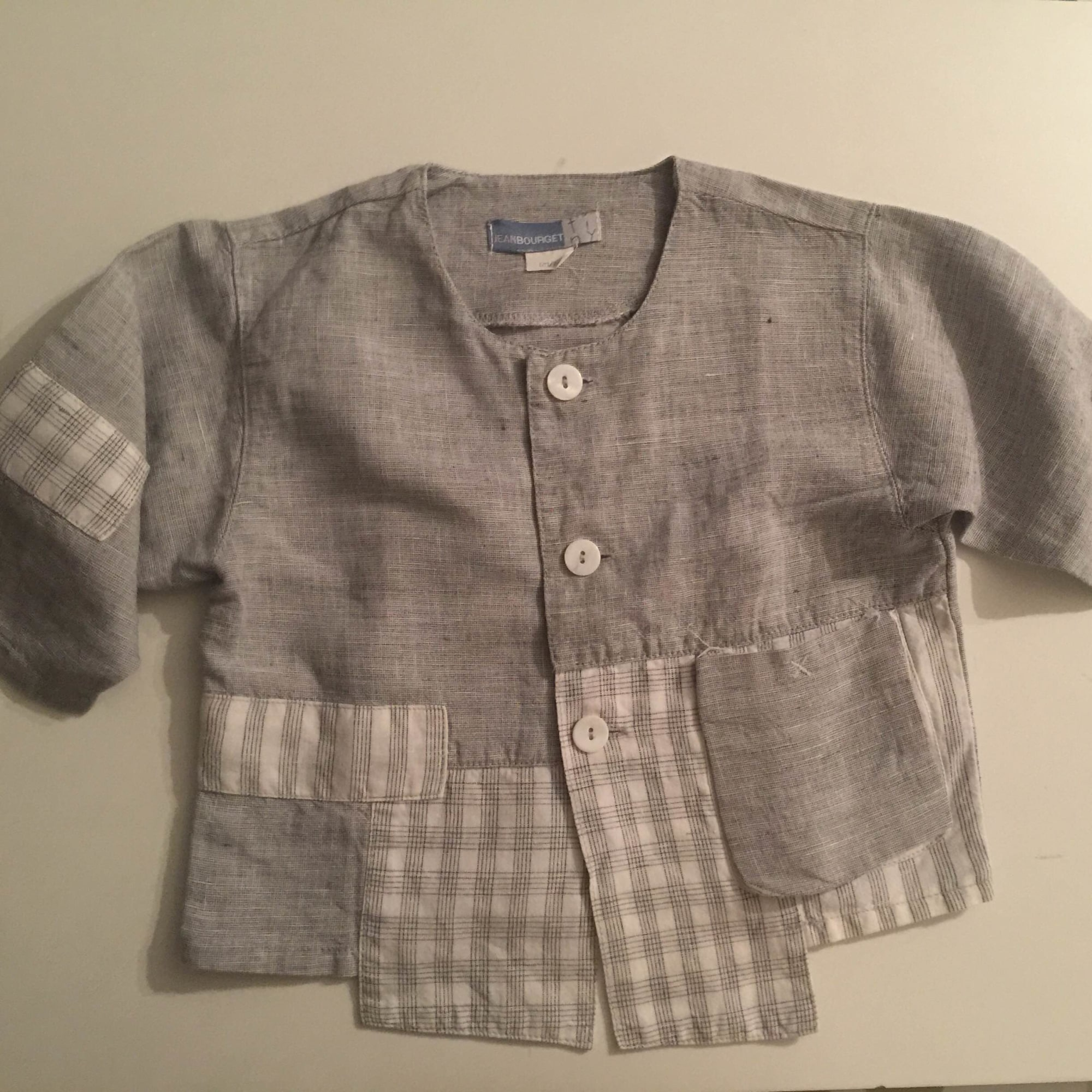 Chemisier, chemisette JEAN BOURGET Gris, anthracite