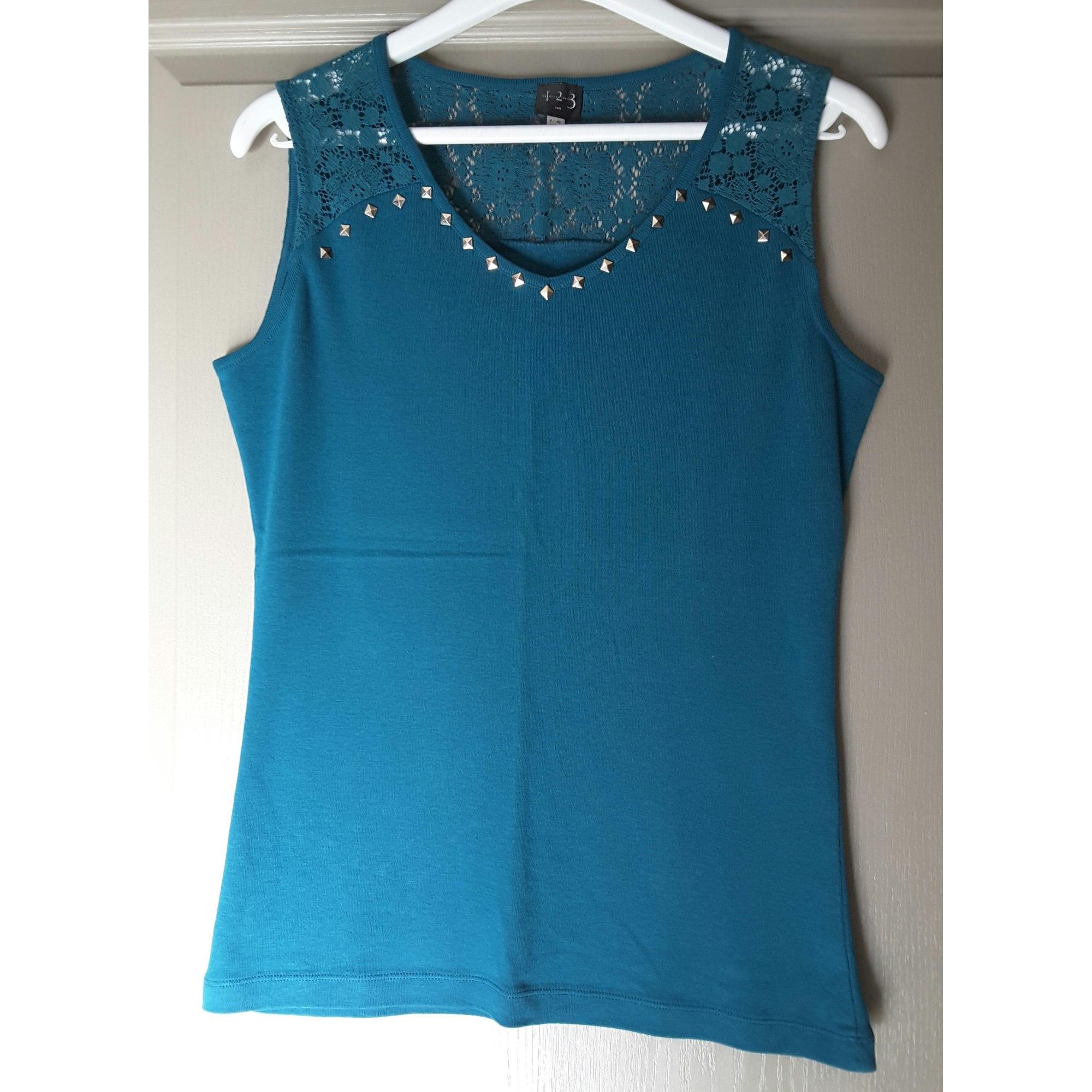 Top, tee-shirt 1.2.3 Vert