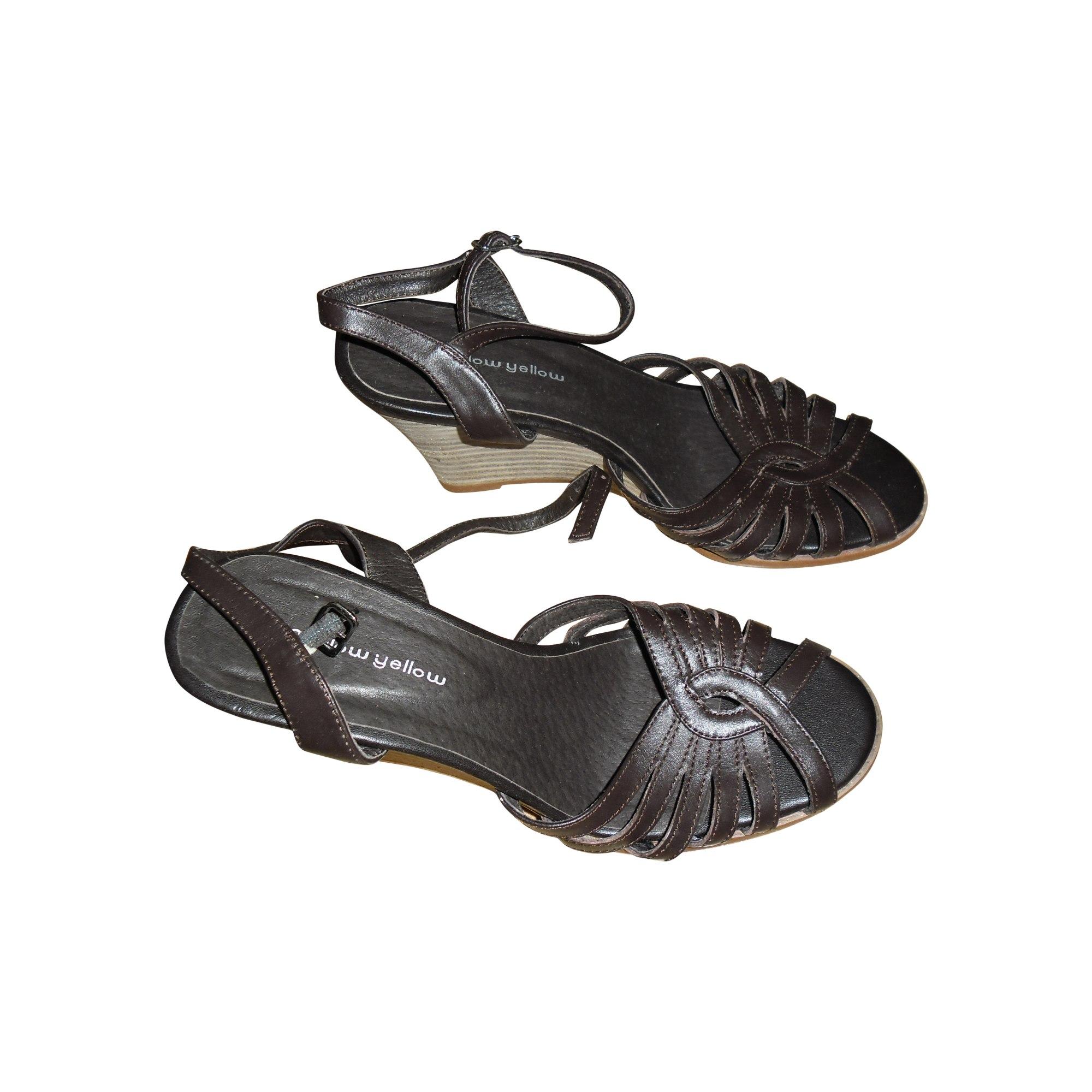 Sandales à talons MELLOW YELLOW Marron