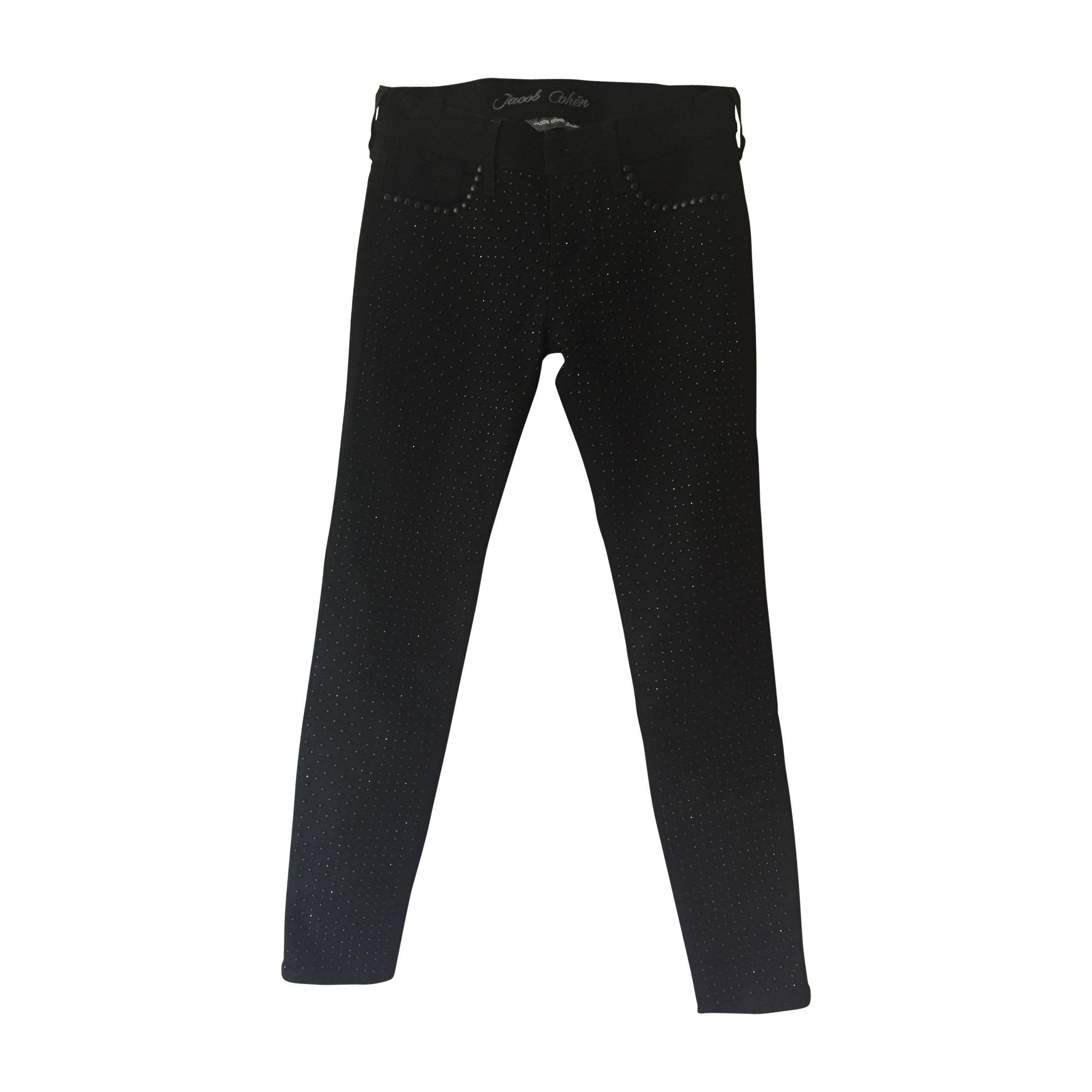 Pantalon slim, cigarette JACOB COHEN Noir
