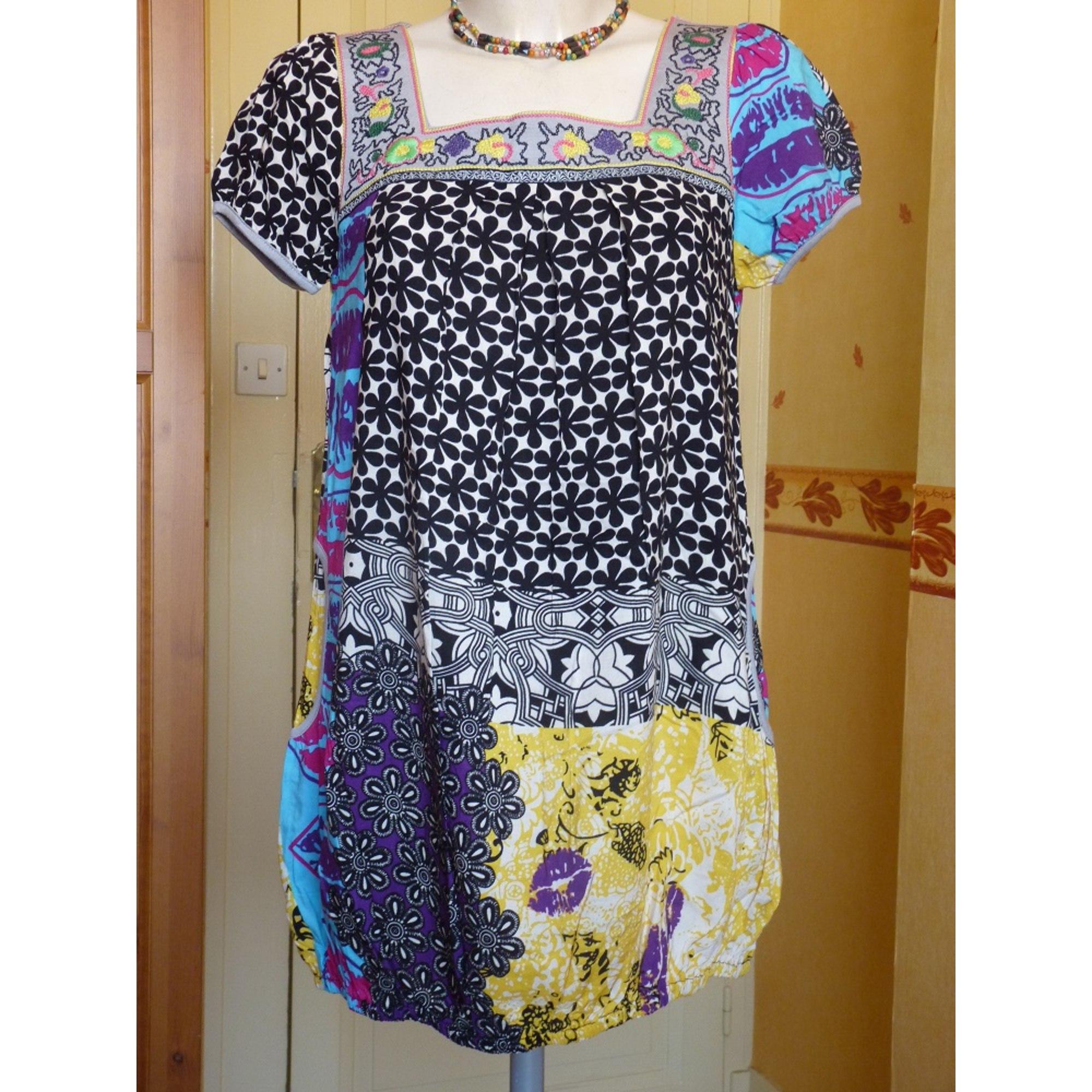 Robe courte CAROLINA Multicouleur