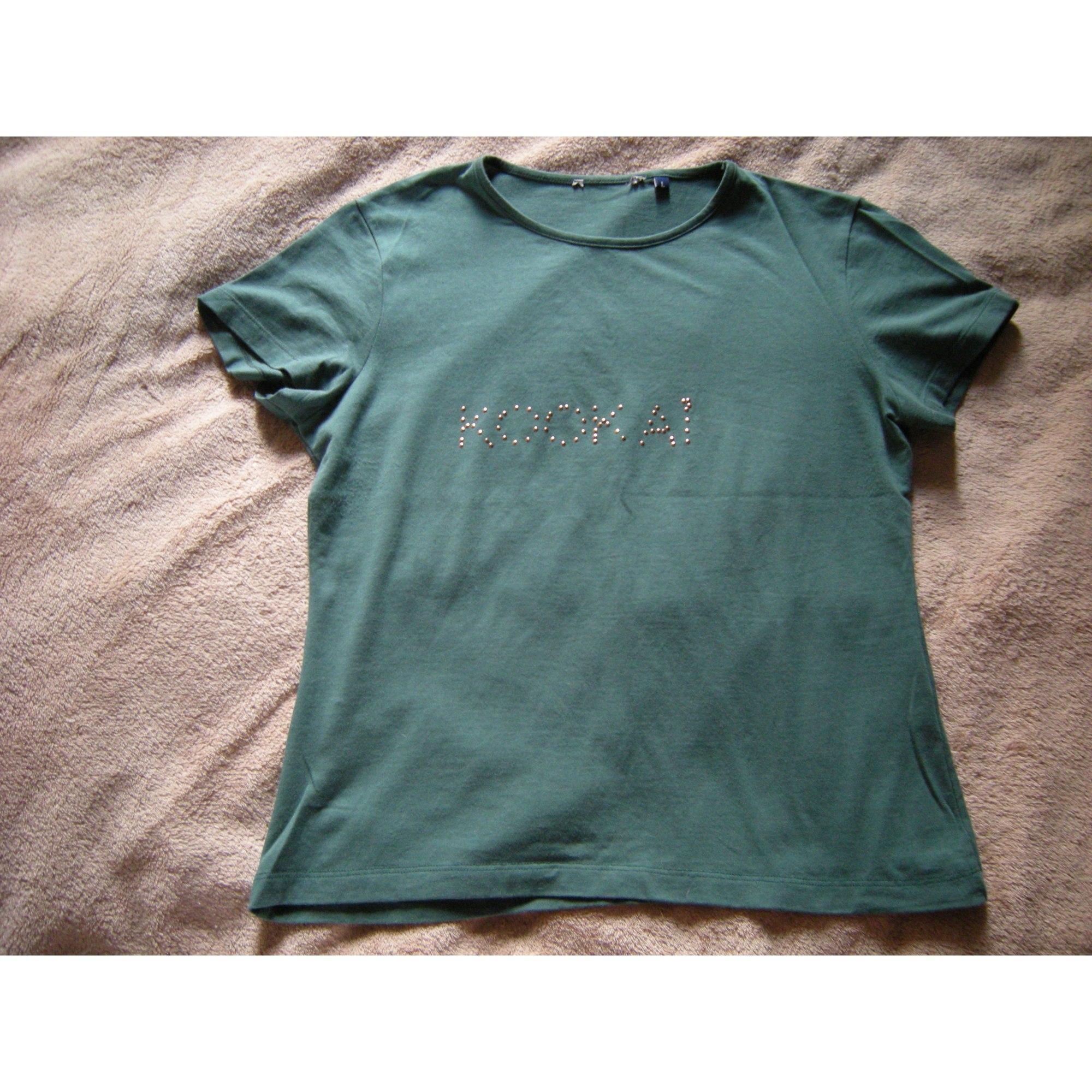 Top, tee-shirt KOOKAI Vert