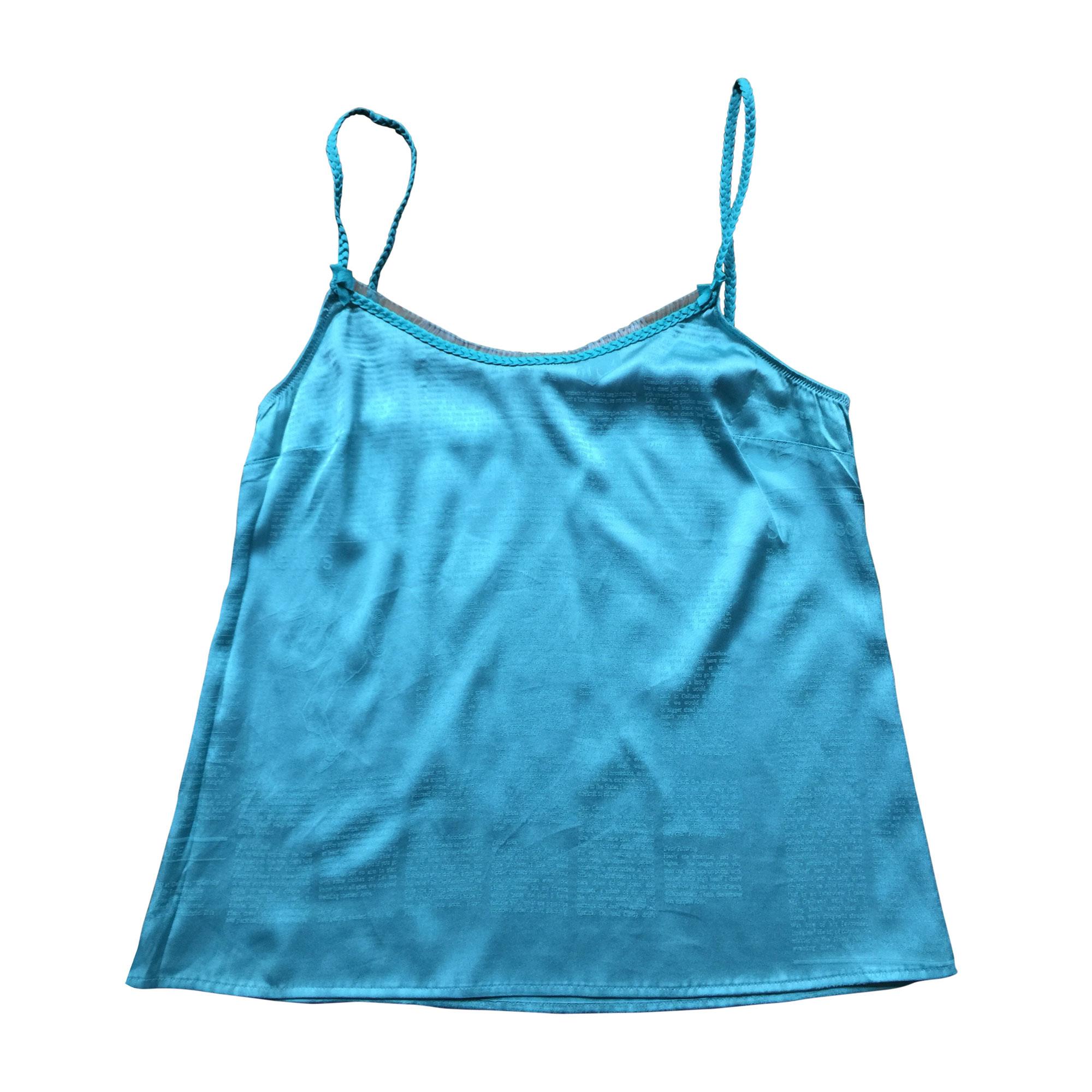 Top, tee-shirt JOHN GALLIANO Bleu, bleu marine, bleu turquoise