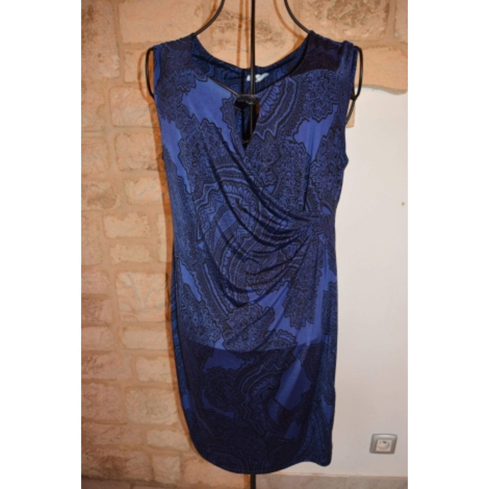 Robe Courte Jacqueline Riu 42 L Xl T4 Bleu Vendu Par Light Peony 5039132