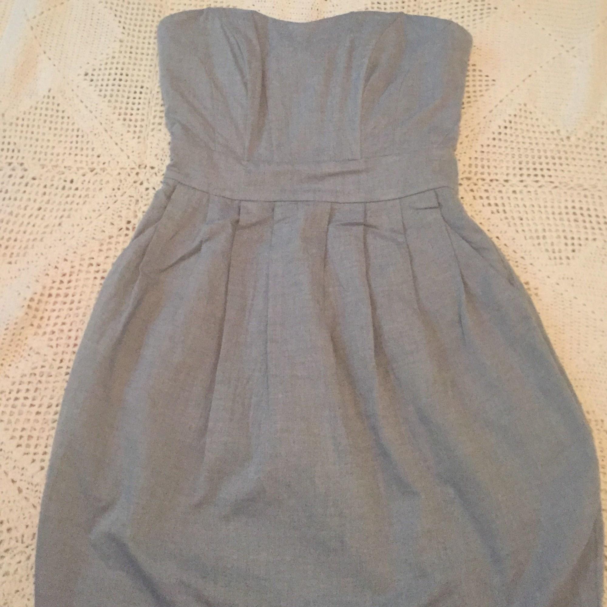 Robe courte H&M Bleu, bleu marine, bleu turquoise