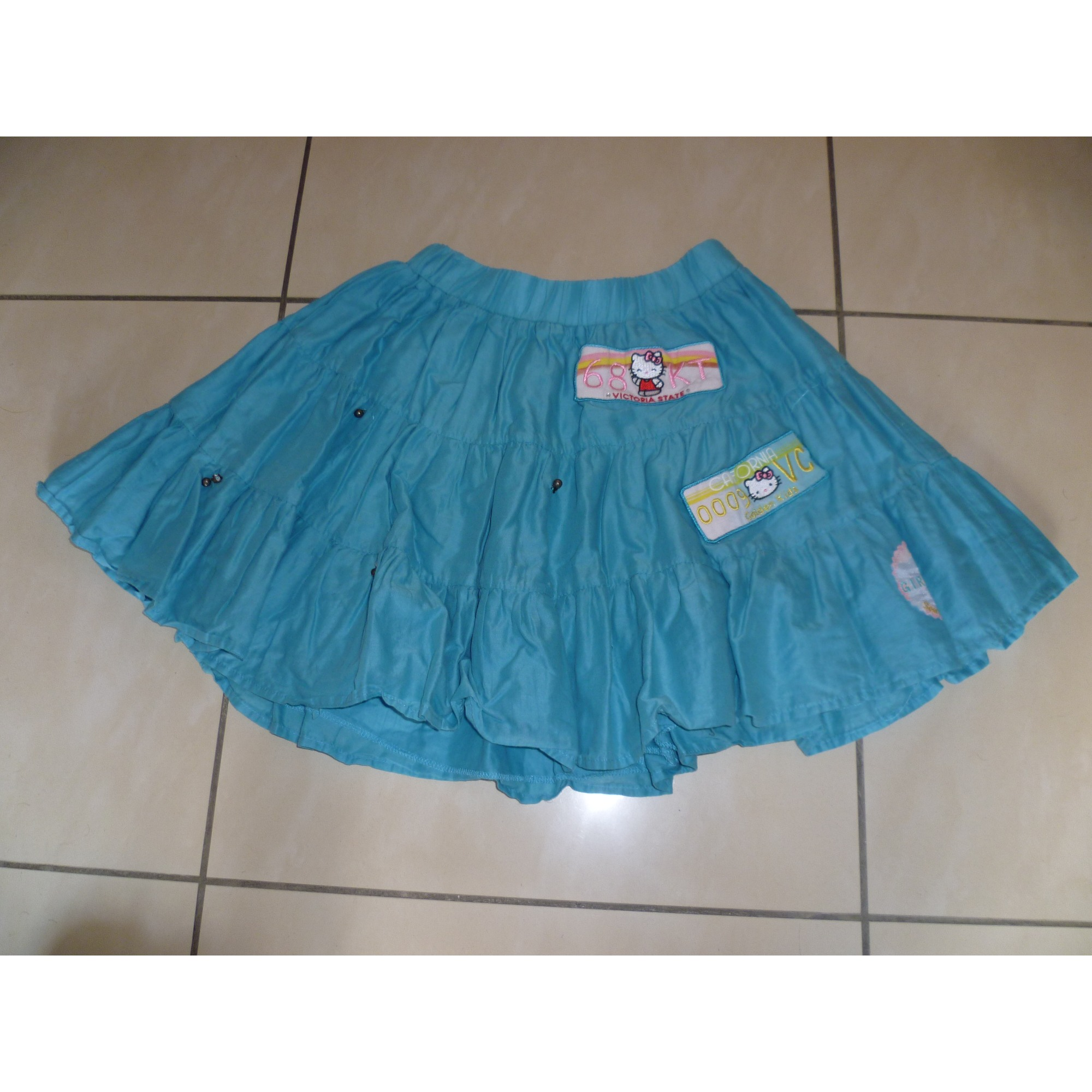 Jupe VICTORIA COUTURE PAR VICTORIA CASAL Bleu, bleu marine, bleu turquoise