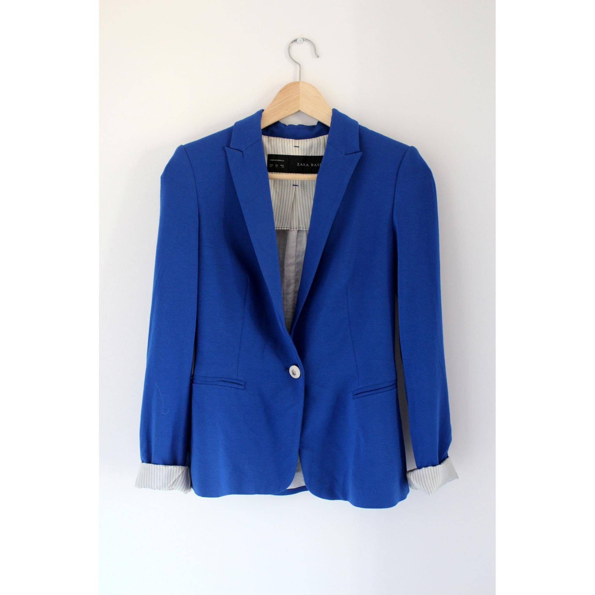 Manteaux & Vestes Zara Femme Bleu, bleu marine, bleu