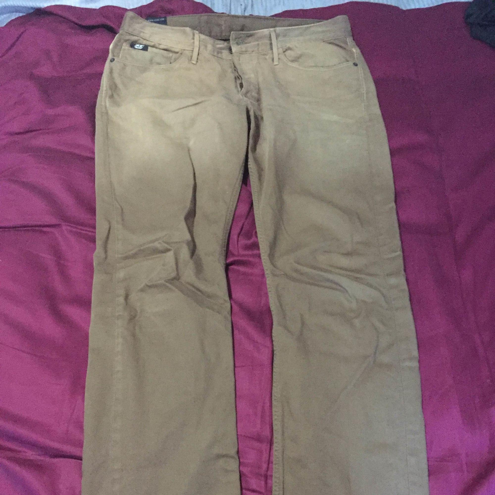 Jeans droit 55DSL Beige, camel