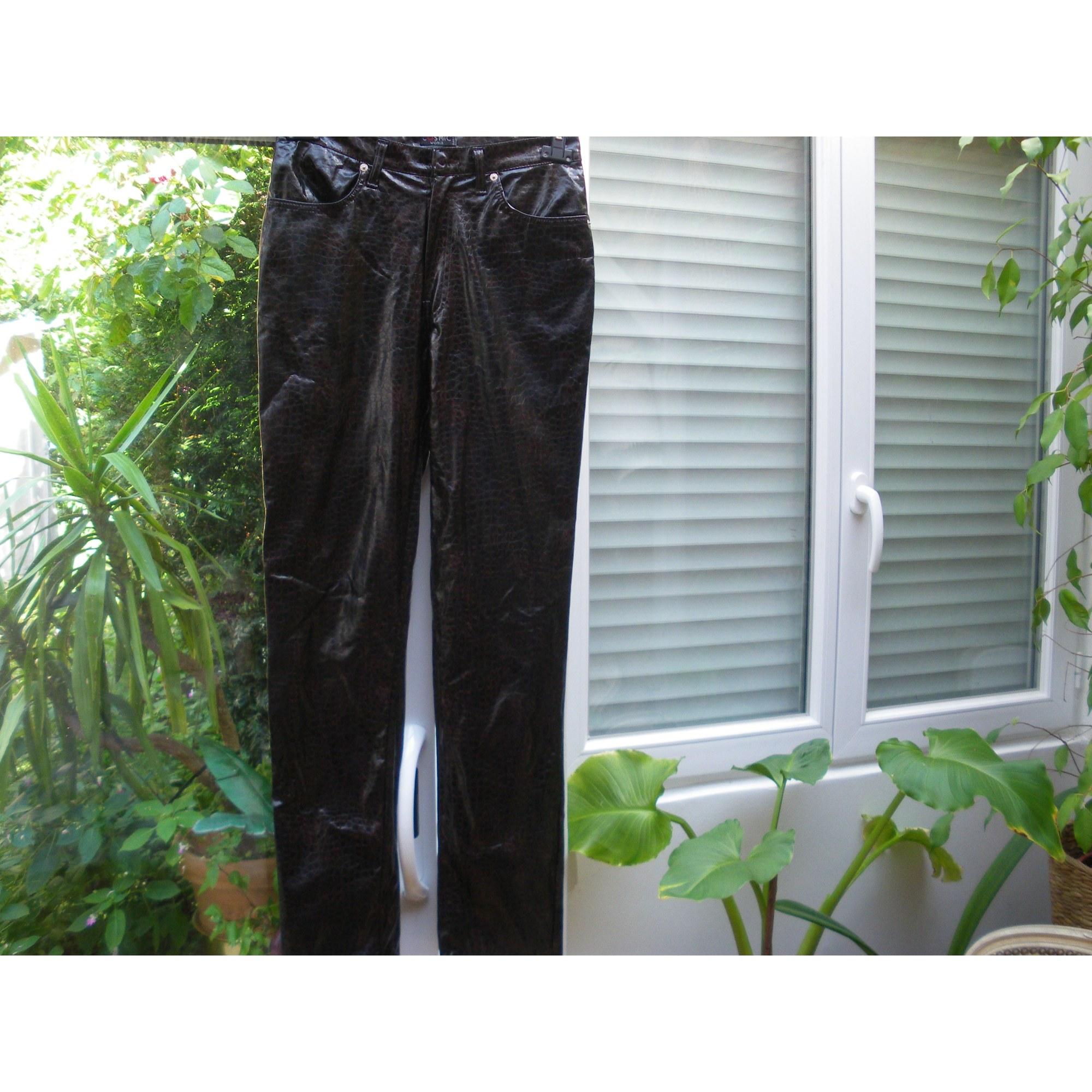 Pantalon droit COSMIC Multicouleur
