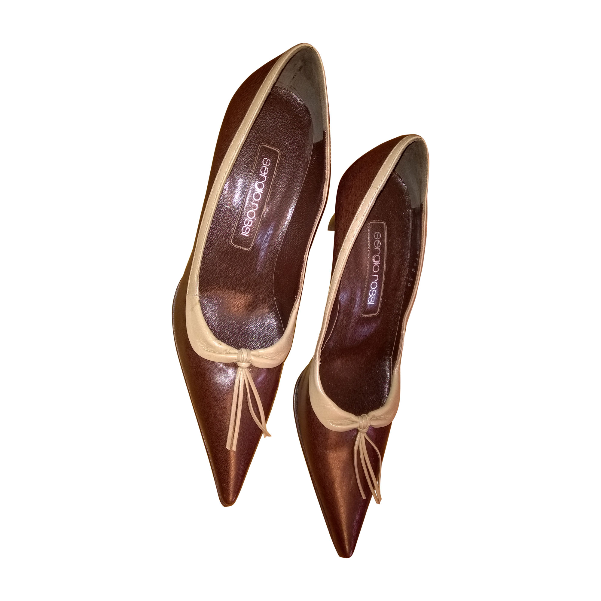 Chaussures de danse  SERGIO ROSSI Marron
