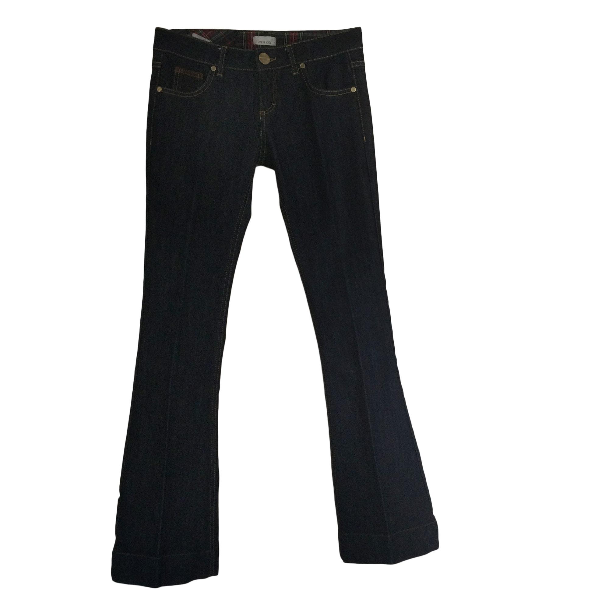 Jeans très evasé, patte d'éléphant PINKO jeans foncé