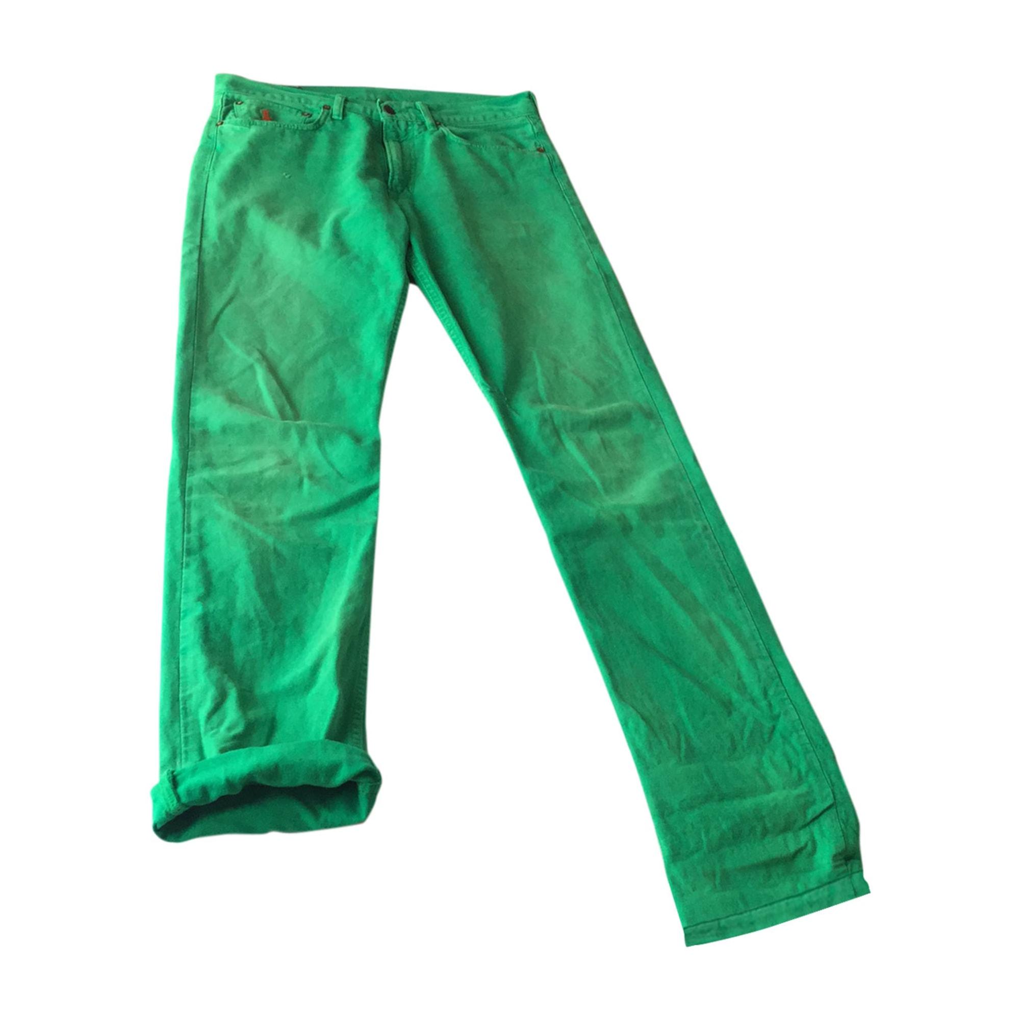 Straight Leg Jeans RALPH LAUREN Green